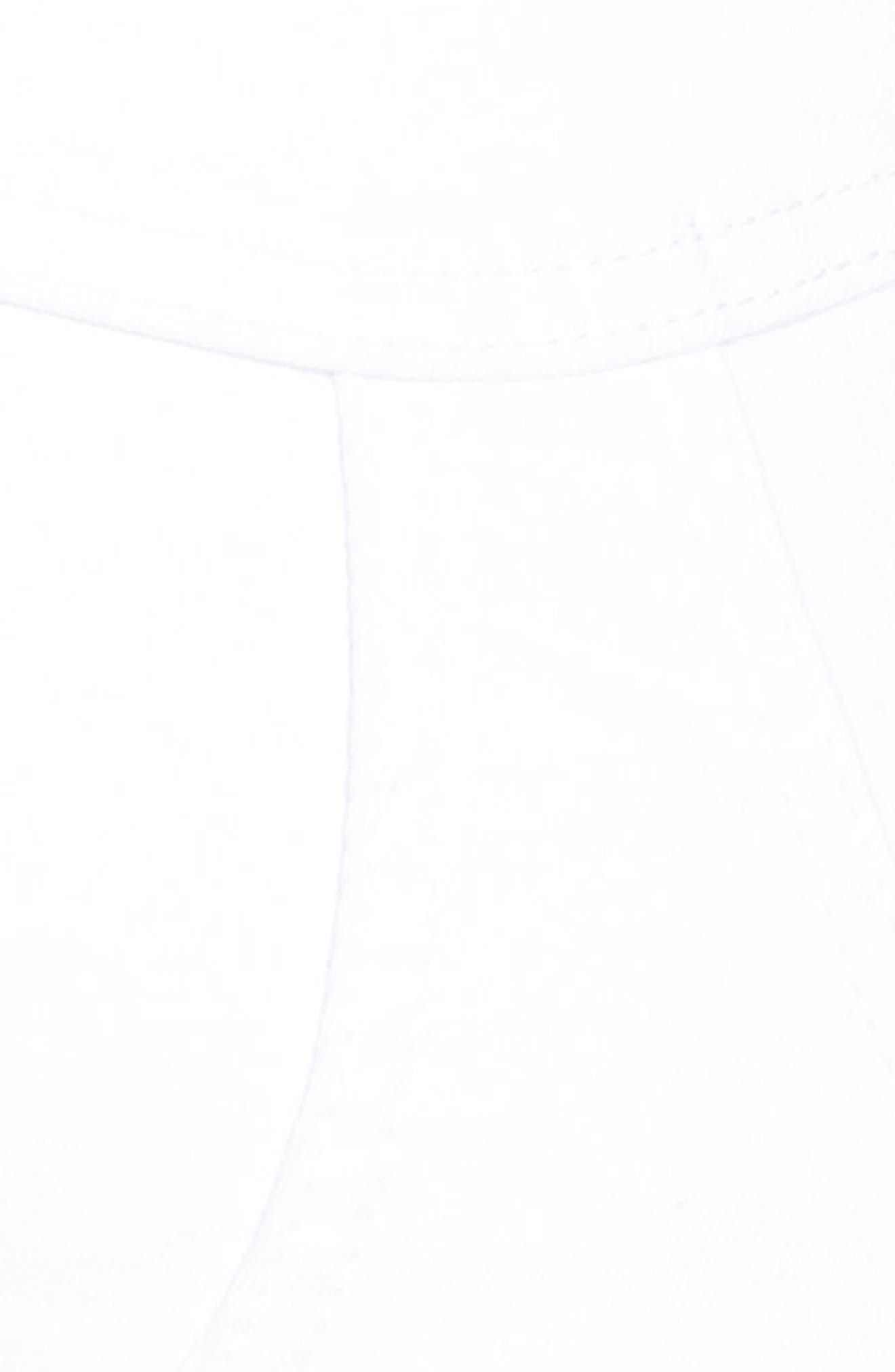SEVEN7, High Waist Stretch Denim Shorts, Alternate thumbnail 6, color, BLANC DE BLANC