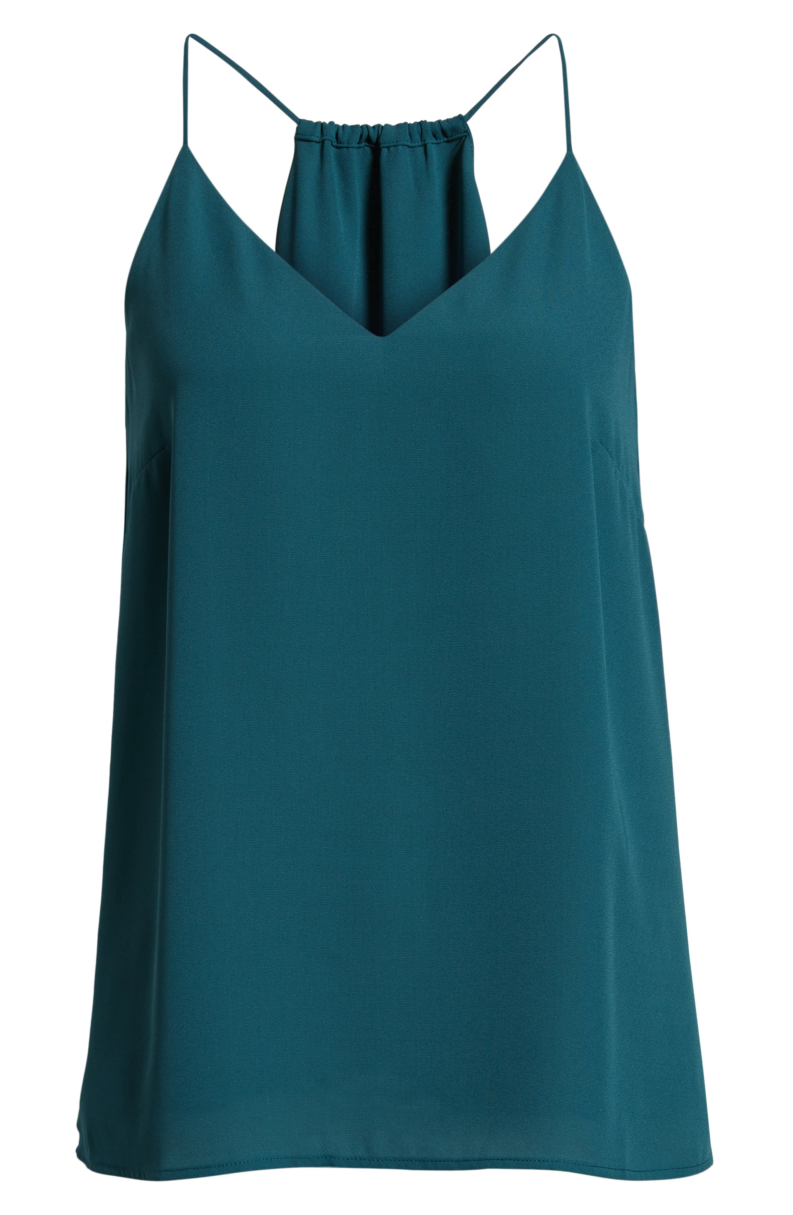 CHELSEA28, Strappy Tank, Alternate thumbnail 6, color, TEAL BALSAM