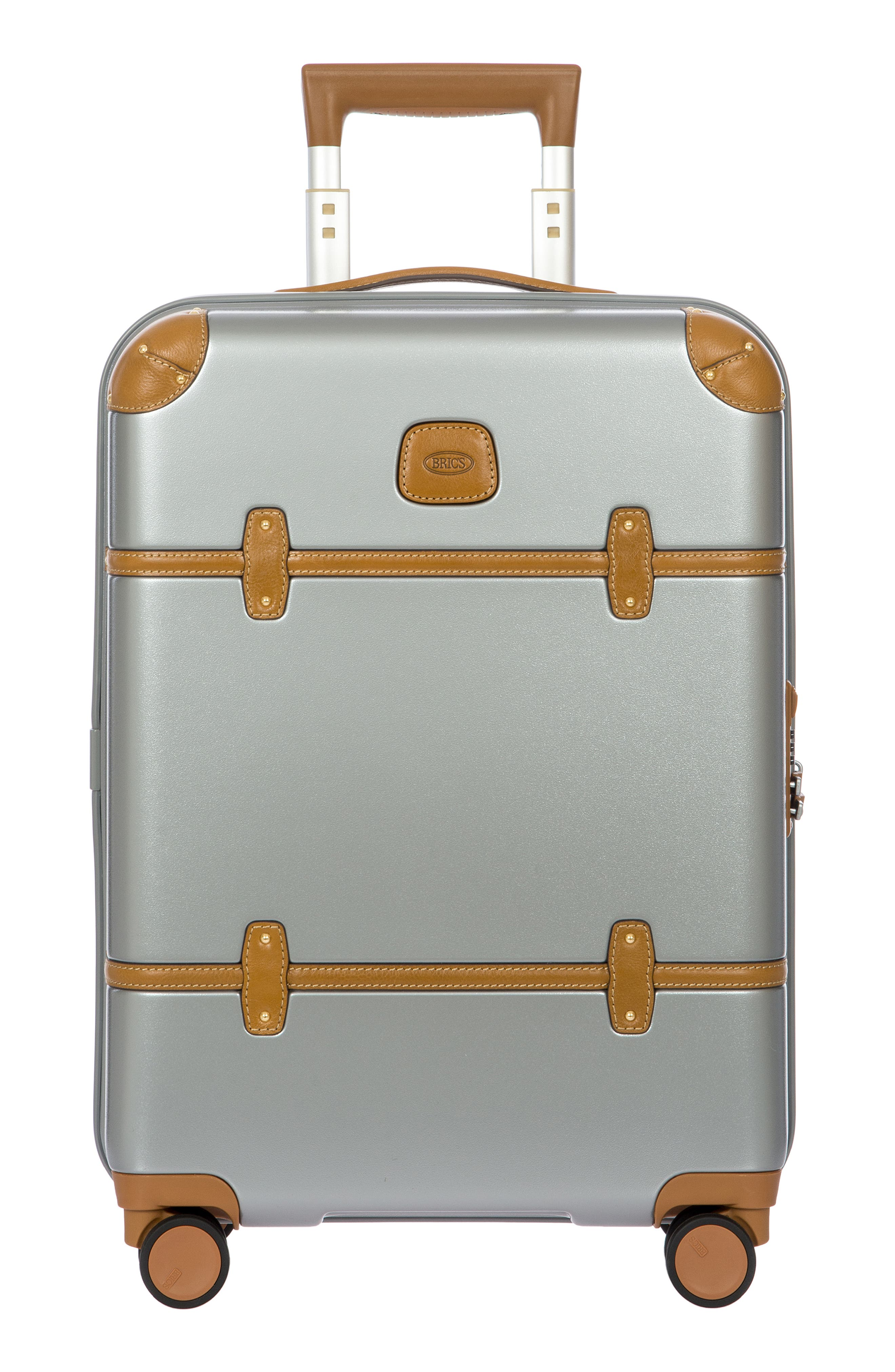 BRIC'S, Bellagio 2.0 21-Inch Rolling Carry-On, Alternate thumbnail 8, color, SILVER