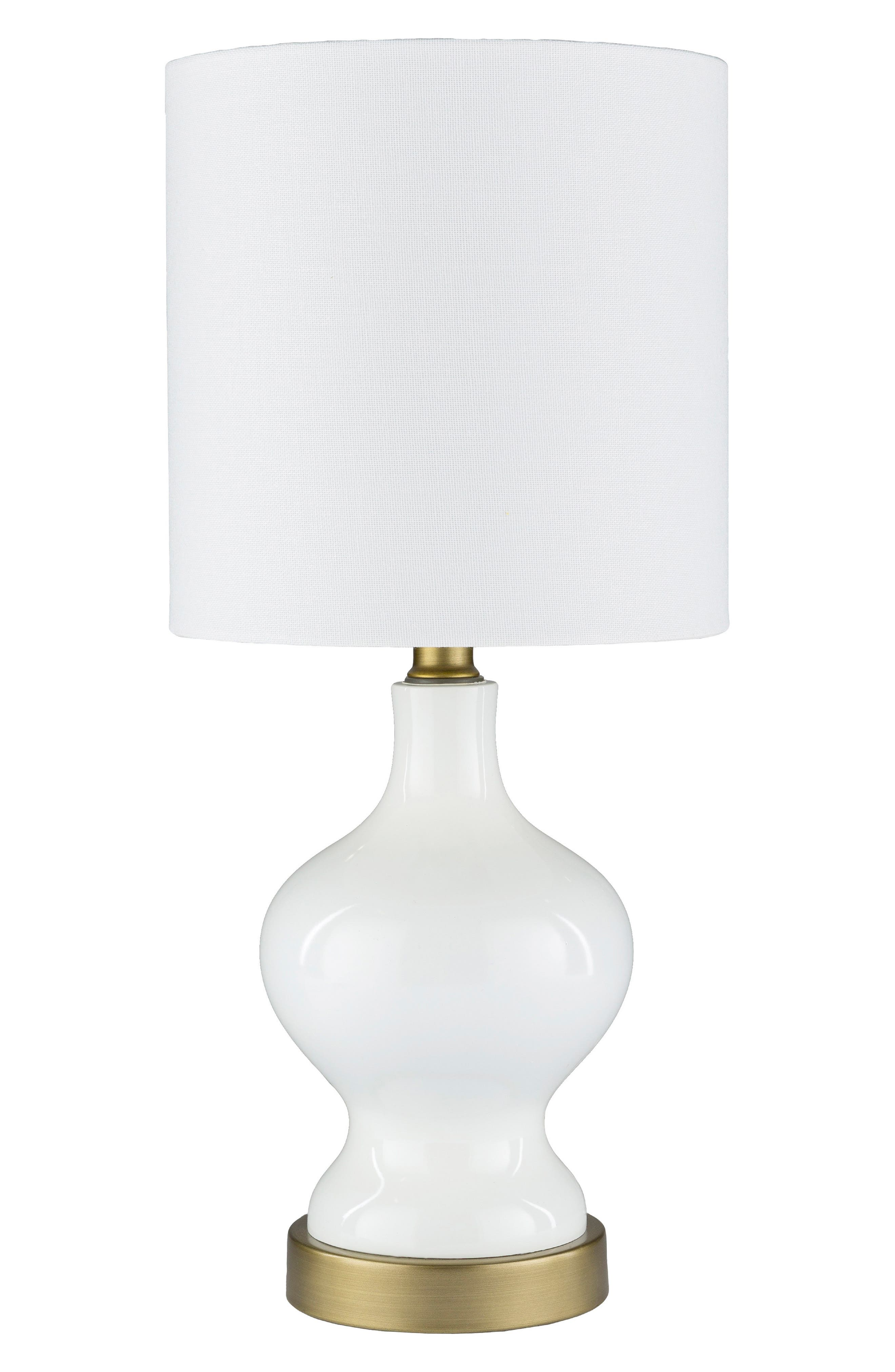 SURYA HOME, Laney Table Lamp, Main thumbnail 1, color, WHITE