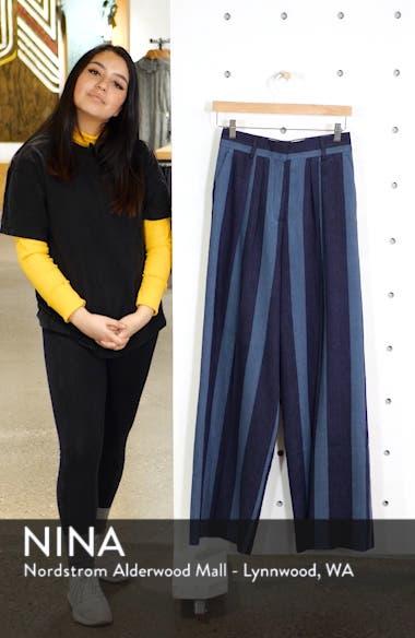 Stripe Denim Pants, sales video thumbnail