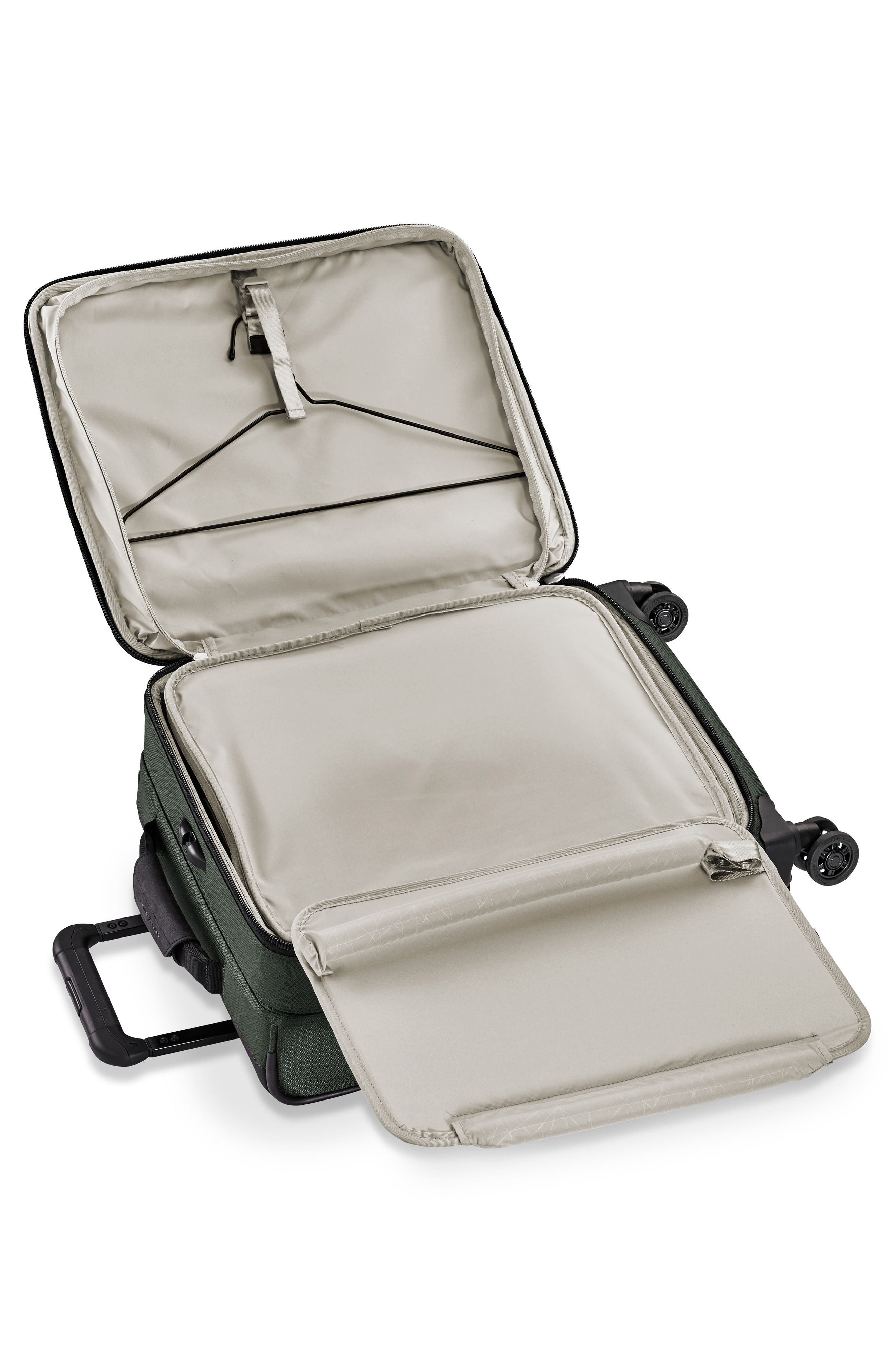 BRIGGS & RILEY, Transcend VX Wide Expandable 21-Inch Spinner Suitcase, Alternate thumbnail 2, color, RAINFOREST GREEN