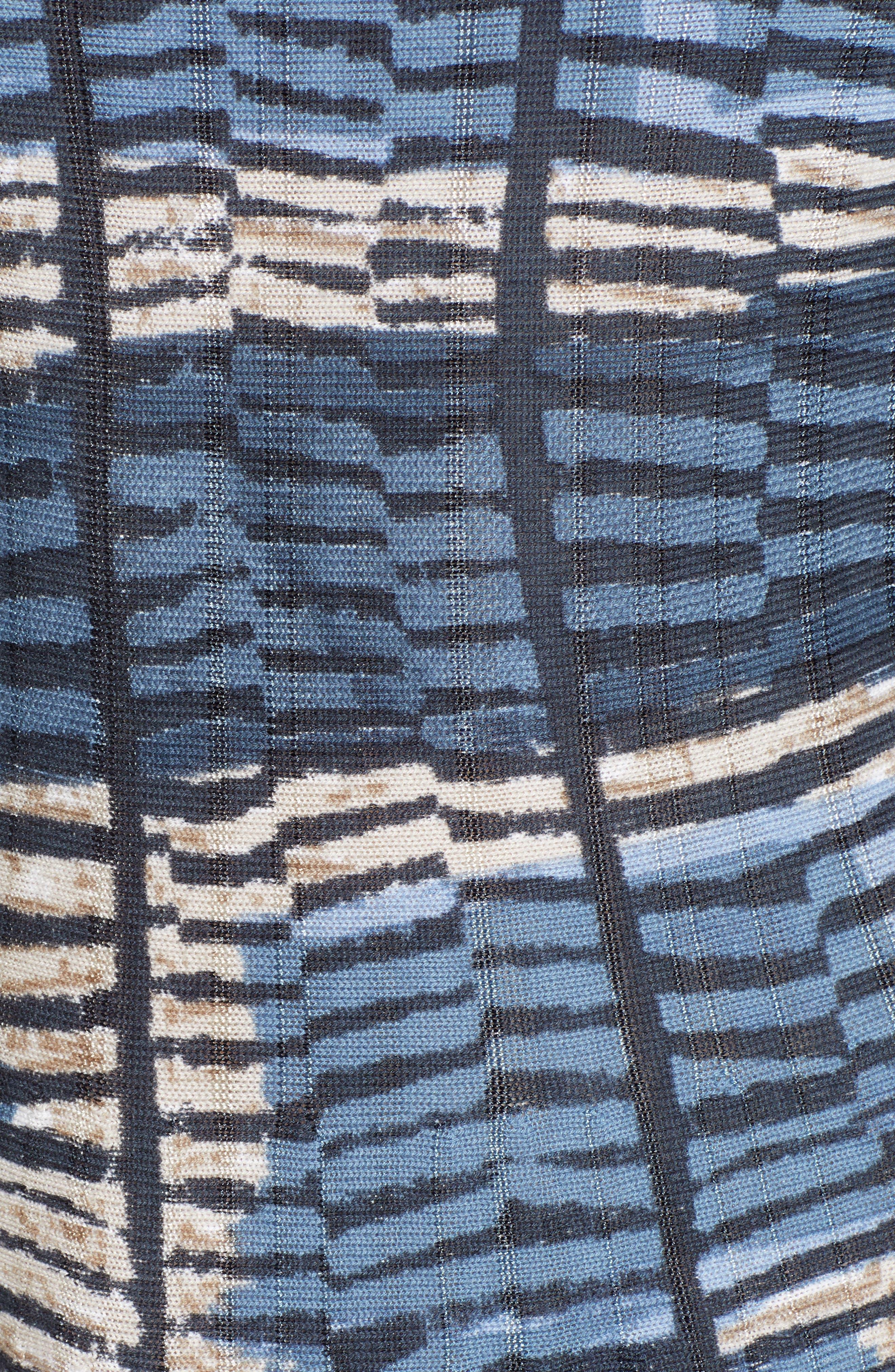 NIC+ZOE, Mesmerize Twirl Dress, Alternate thumbnail 6, color, MULTI