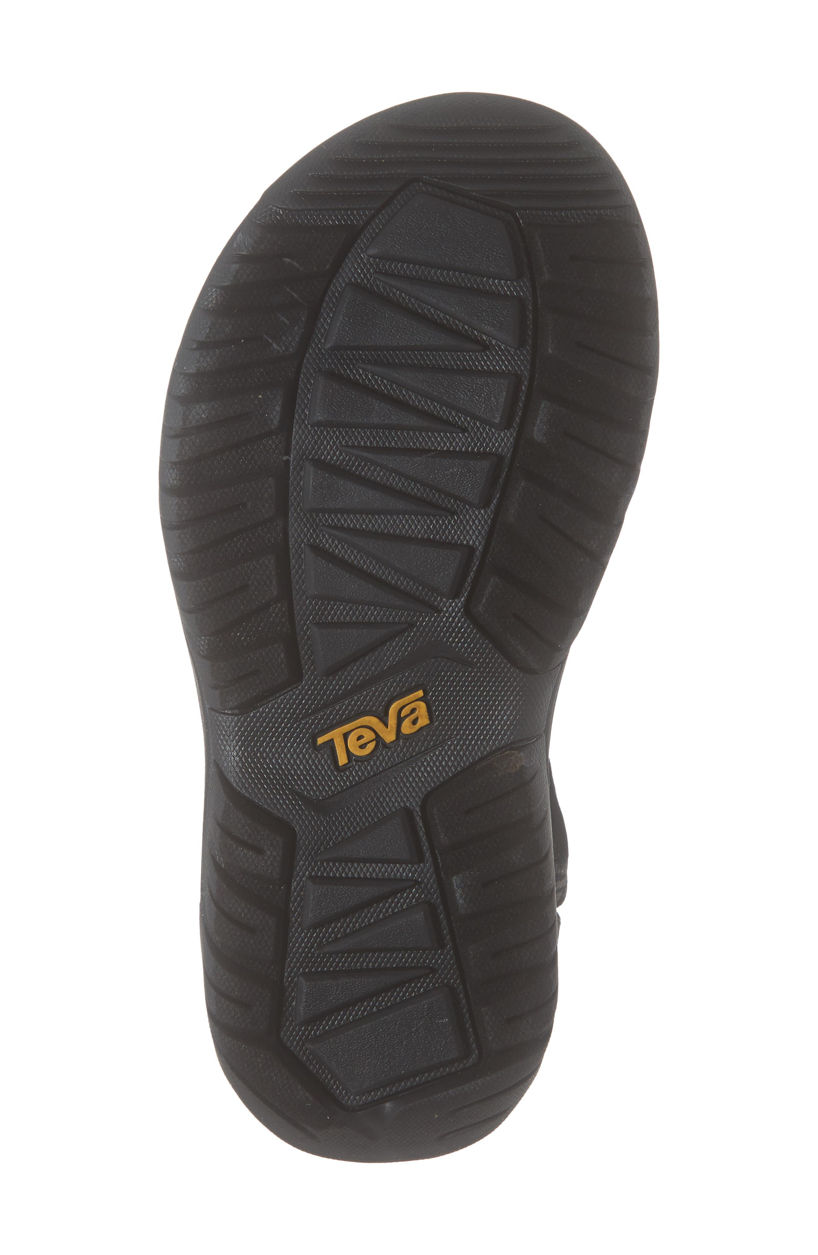 TEVA, Hurricane XLT 2 Sandal, Alternate thumbnail 6, color, BOOMERANG BLACK FABRIC