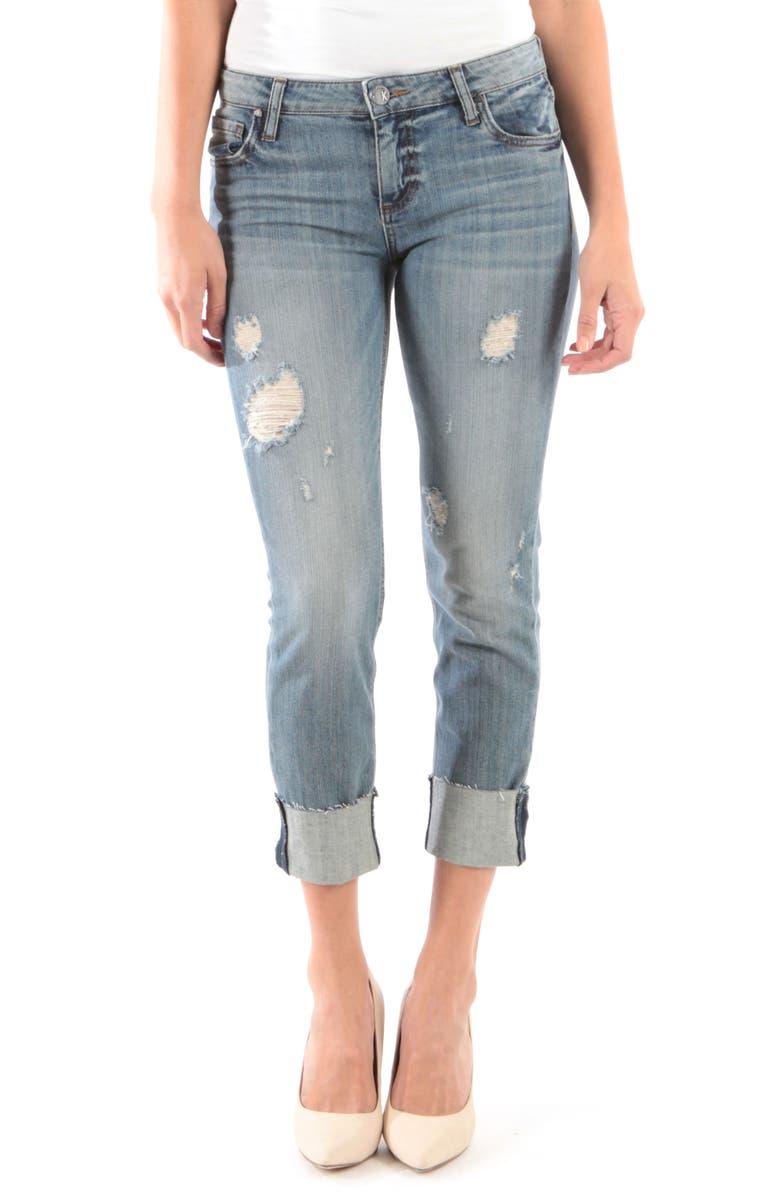 Kut From The Kloth Jeans CATHERINE RAW HEM BOYFRIEND JEANS