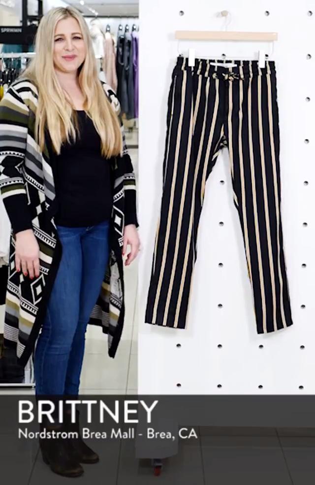 Stripe Jogger Pants, sales video thumbnail