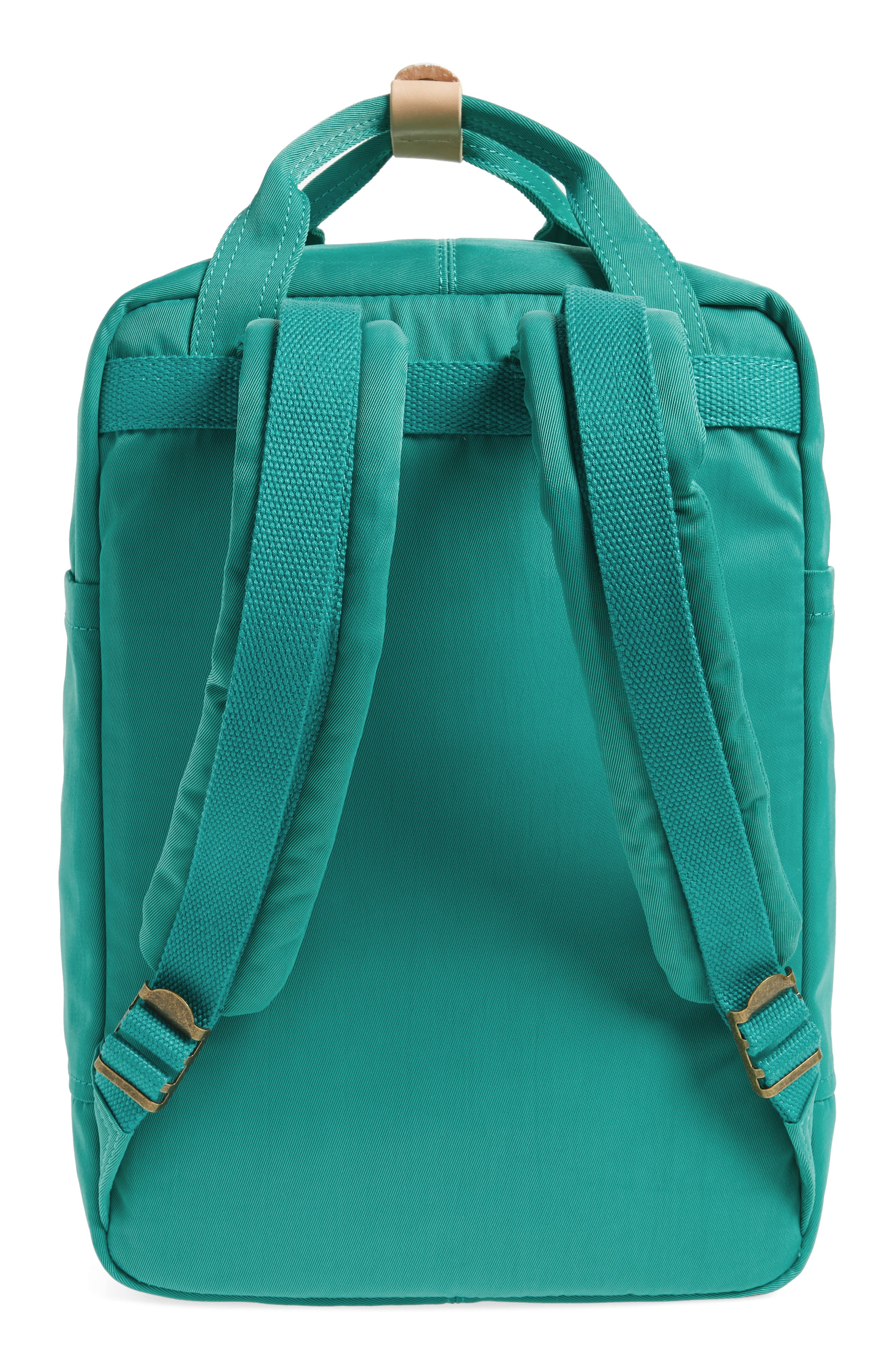 DOUGHNUT, Macaroon Water Resistant Backpack, Alternate thumbnail 3, color, MINT
