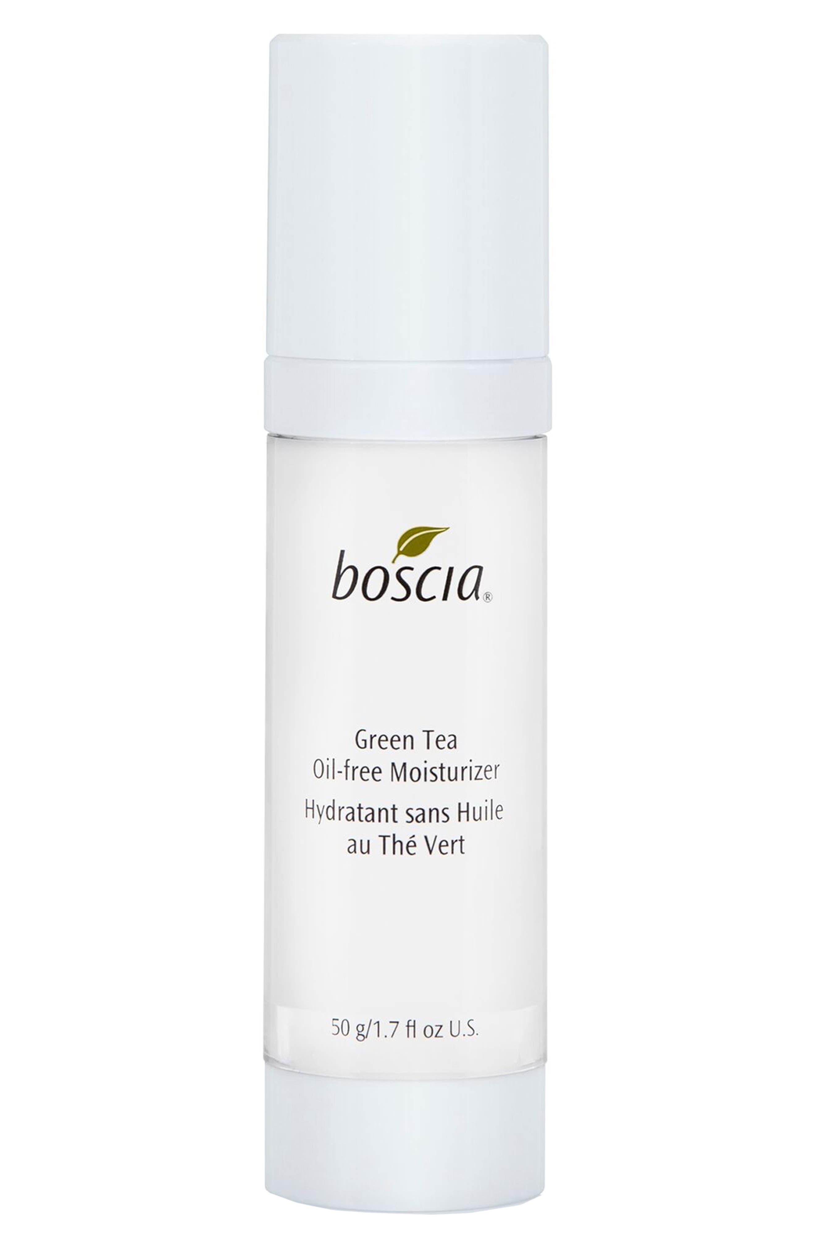 BOSCIA, Green Tea Oil-Free Moisturizer, Main thumbnail 1, color, NO COLOR
