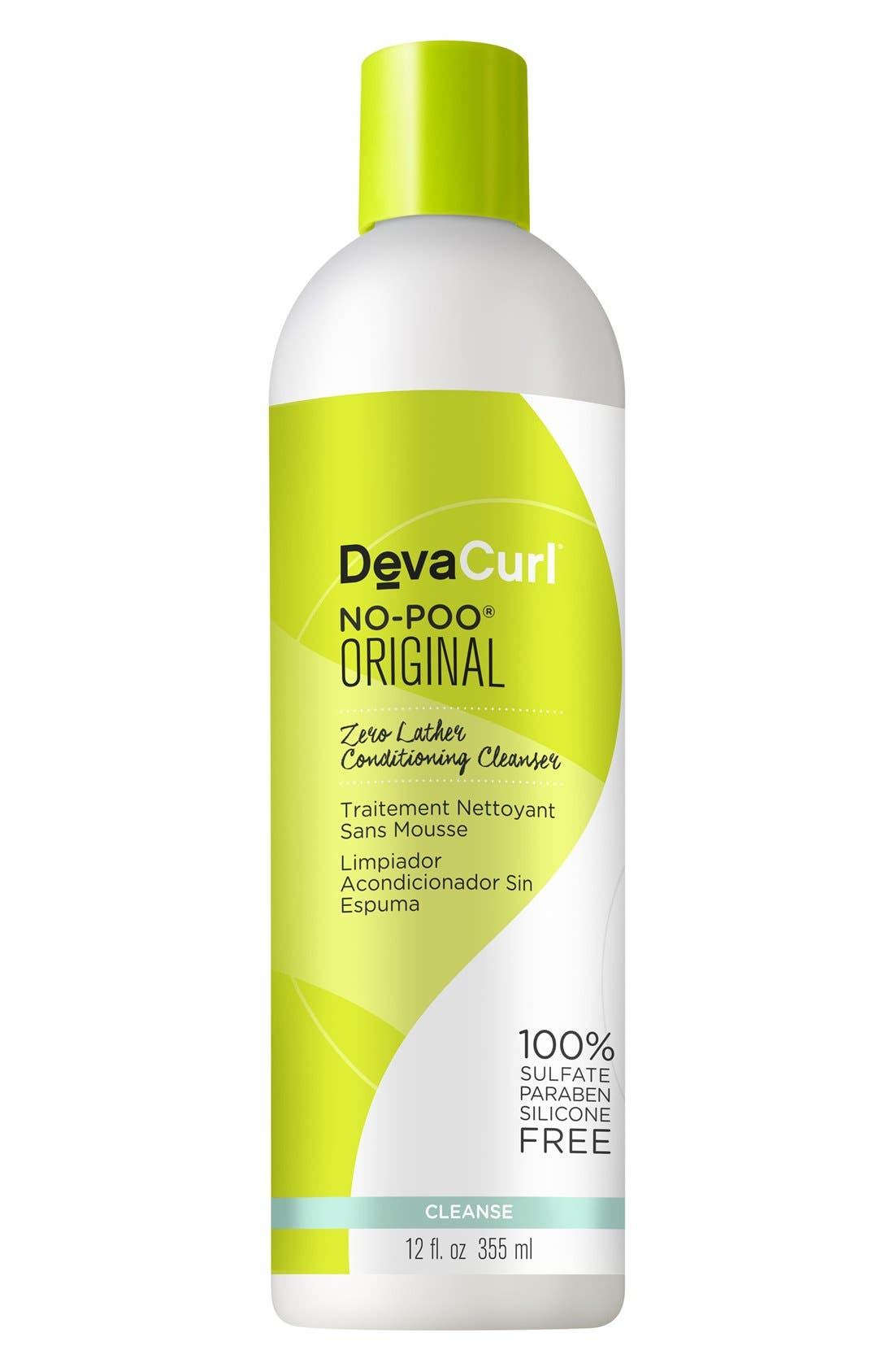 DEVACURL, No-Poo<sup>®</sup> Original Zero Lather Conditioning Cleanser, Alternate thumbnail 3, color, NO COLOR