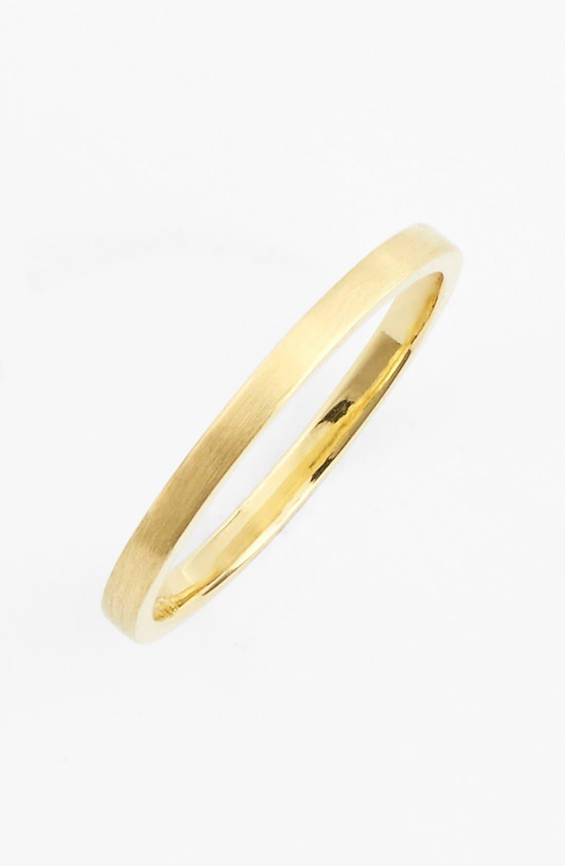 BONY LEVY, 14k Gold Midi Ring, Main thumbnail 1, color, YELLOW GOLD