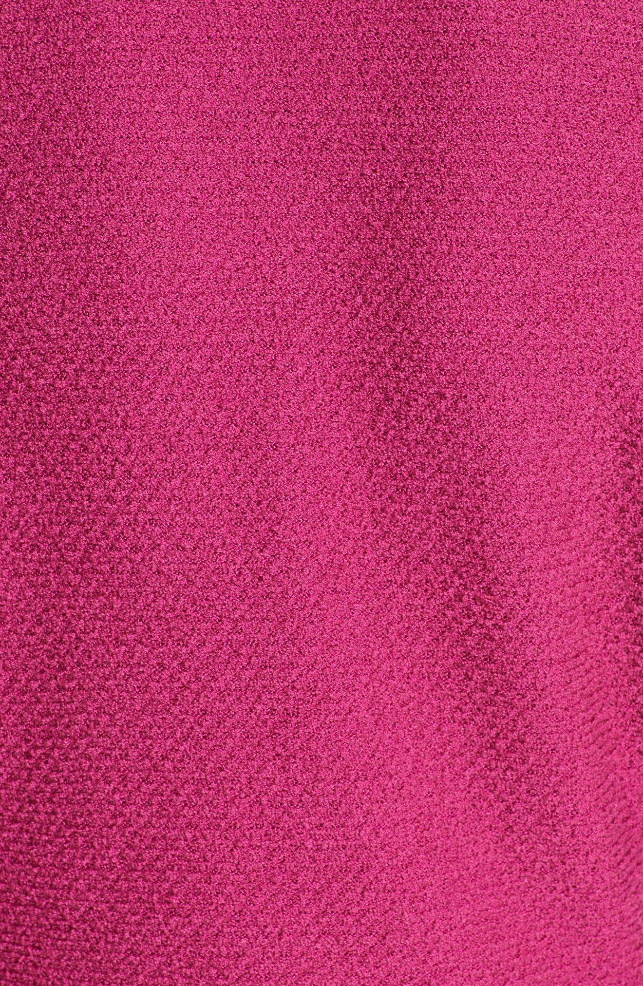 ST. JOHN COLLECTION, Refined Knit Jacket, Alternate thumbnail 7, color, CAMELLIA