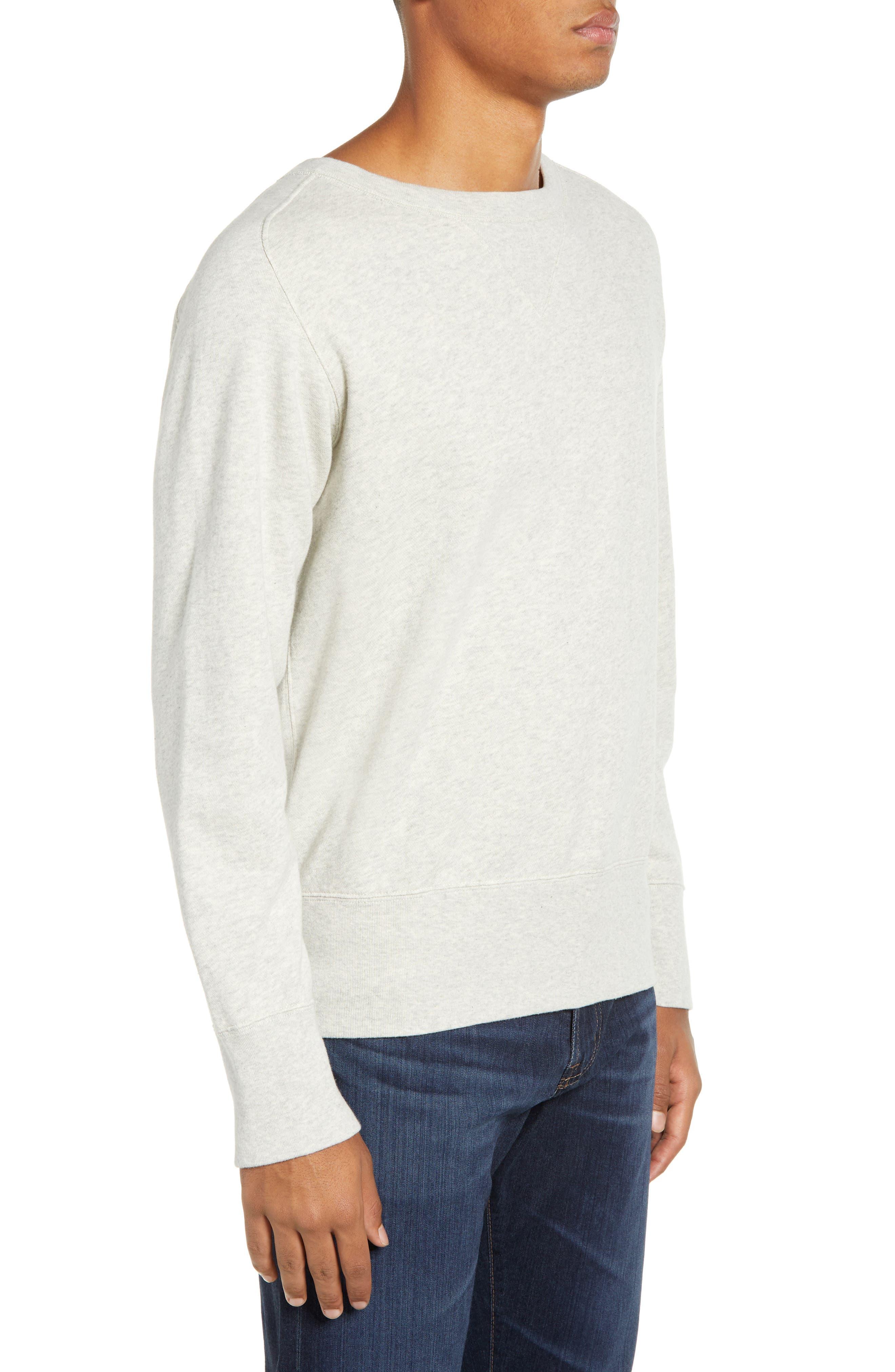 LEVI'S<SUP>®</SUP> VINTAGE CLOTHING, 1930s Bay Meadows Sweatshirt, Alternate thumbnail 3, color, OATMEAL