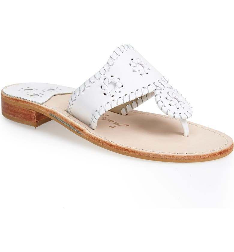 Jack Rogers Slippers WHIPSTITCHED FLIP FLOP