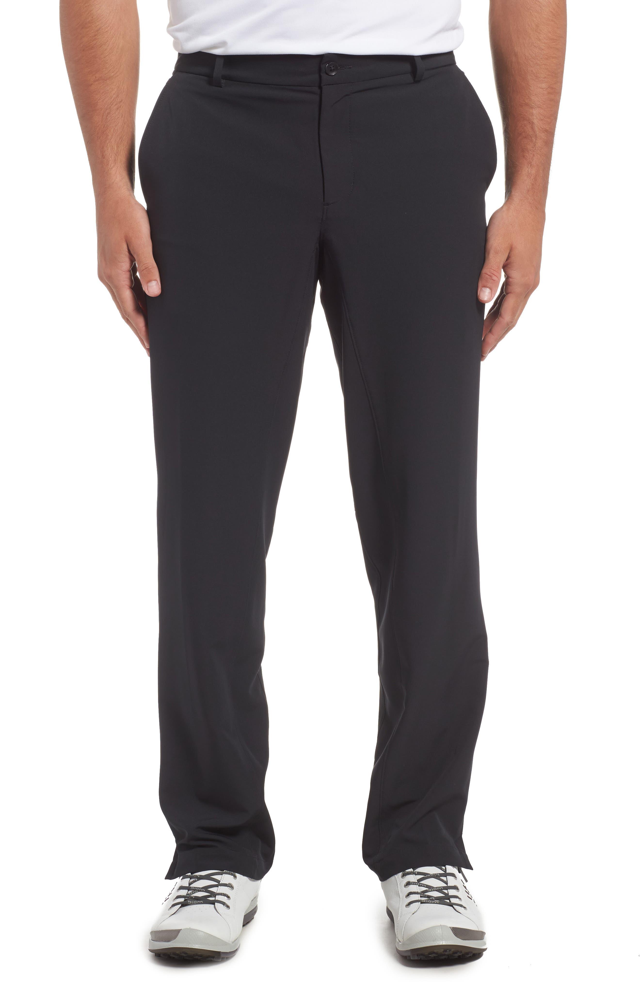 NIKE, Hybrid Flex Golf Pants, Main thumbnail 1, color, 010