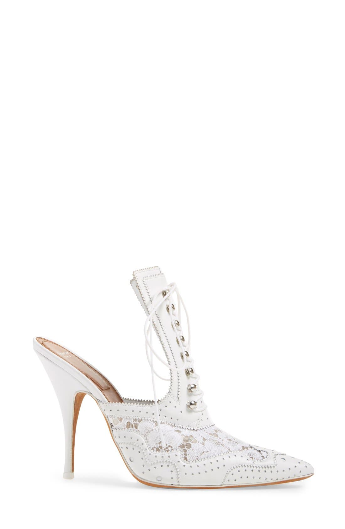 GIVENCHY, 'Rooja' Pointy Toe Mule, Alternate thumbnail 2, color, 101