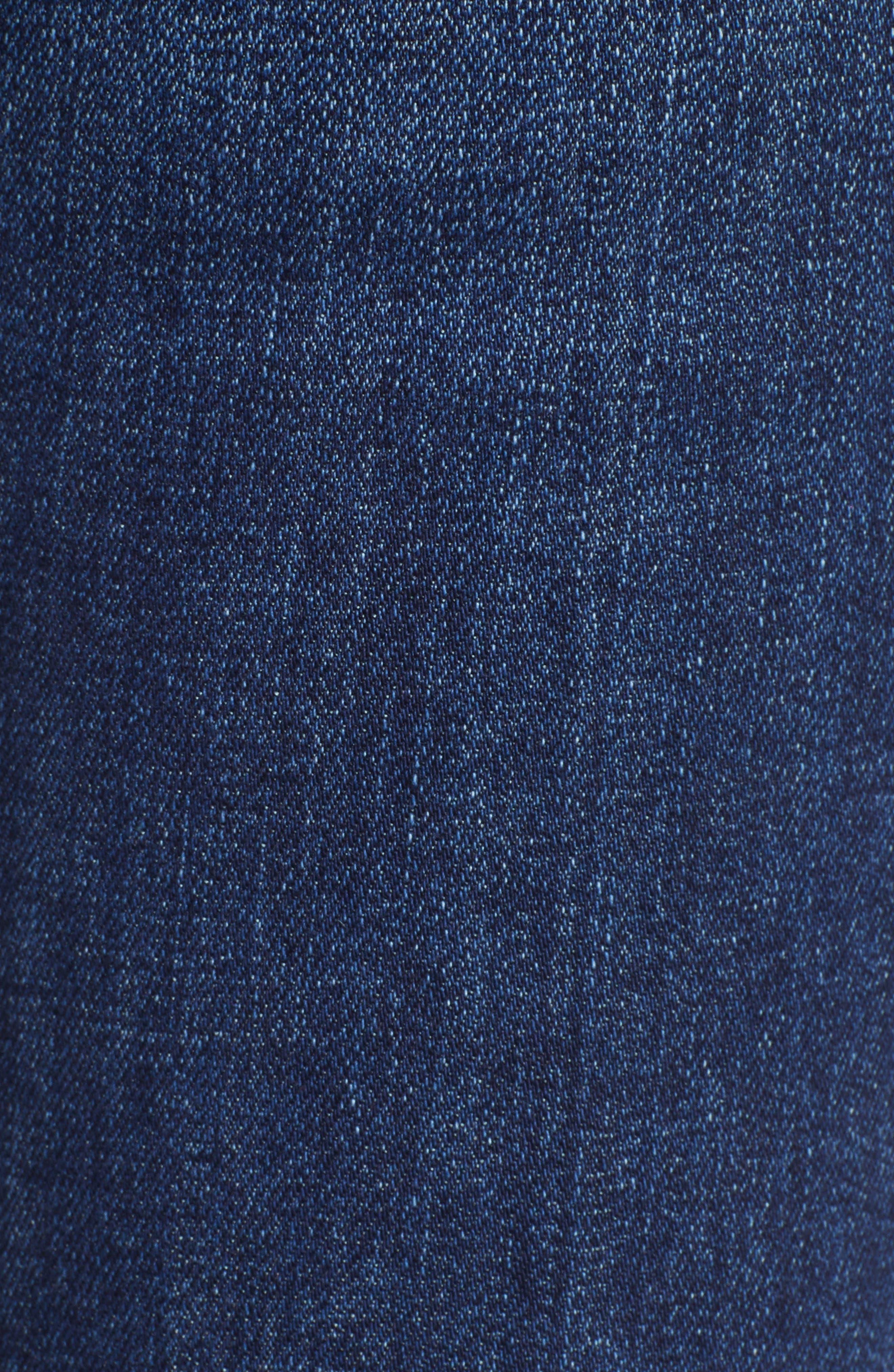 HUDSON JEANS, Holly High Waist Flare Jeans, Alternate thumbnail 6, color, VAGABOND