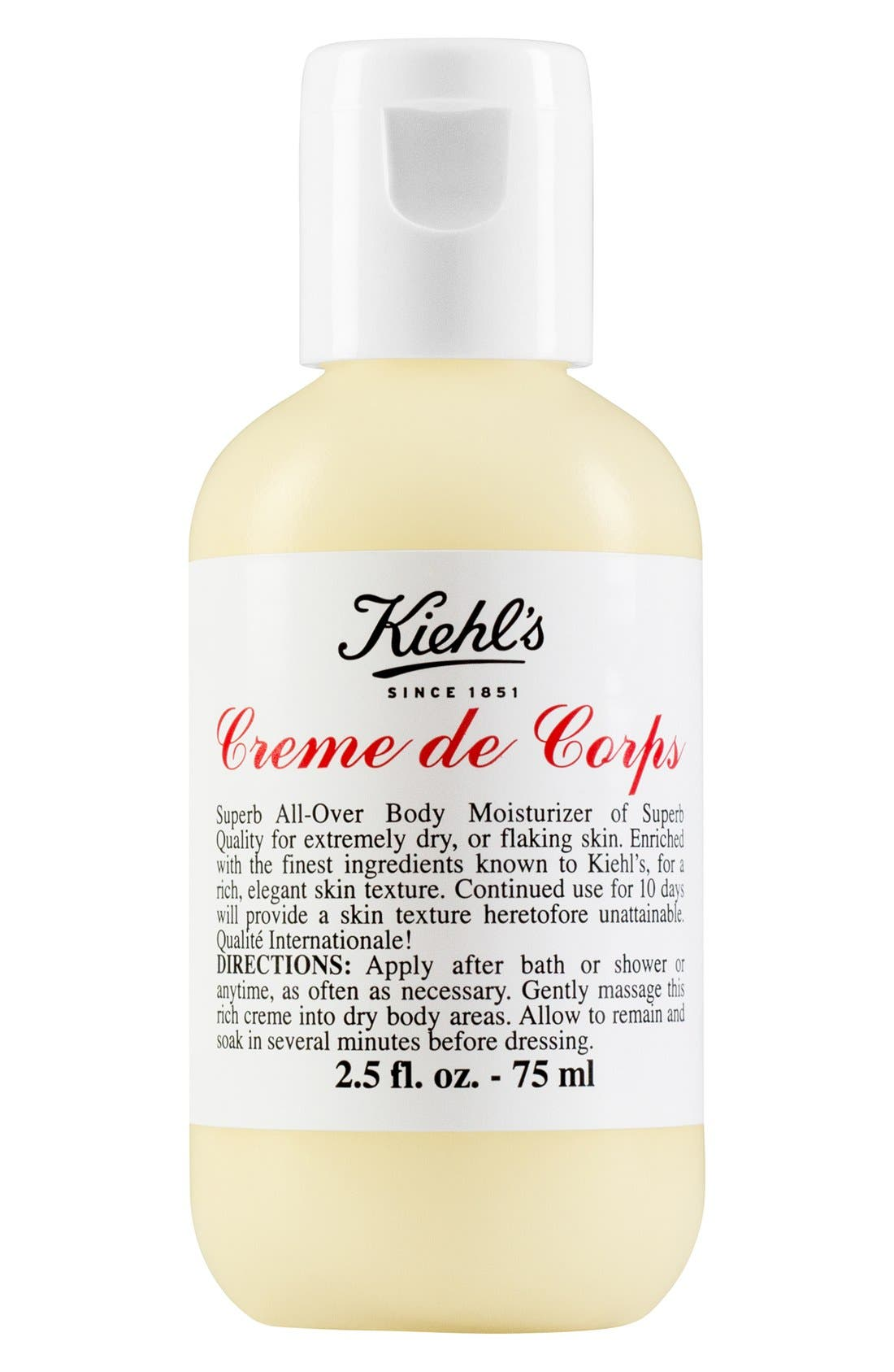 KIEHL'S SINCE 1851, Creme de Corps, Alternate thumbnail 4, color, NO COLOR