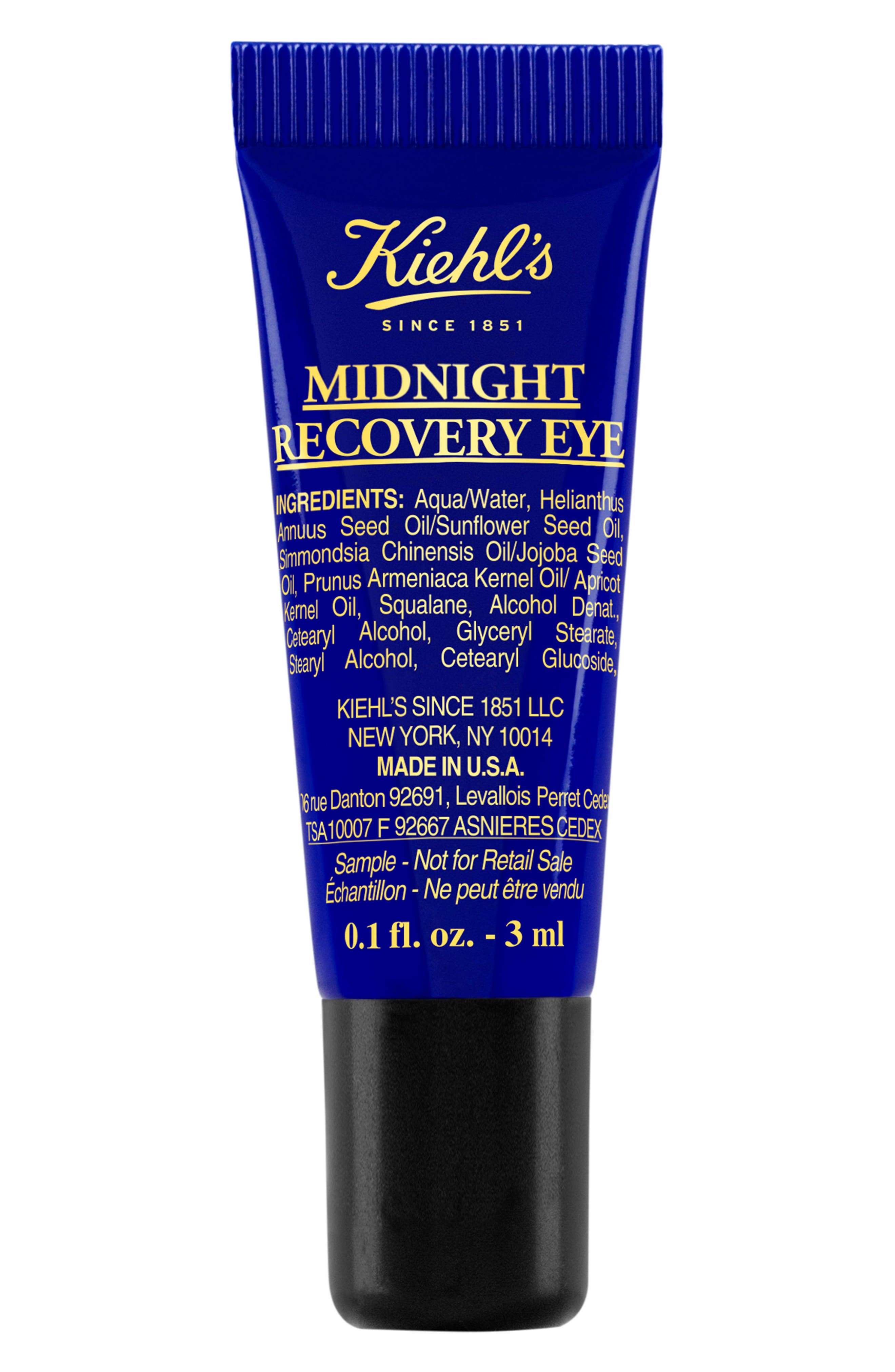 KIEHL'S SINCE 1851, Midnight Recovery Eye Concentrate, Main thumbnail 1, color, NO COLOR