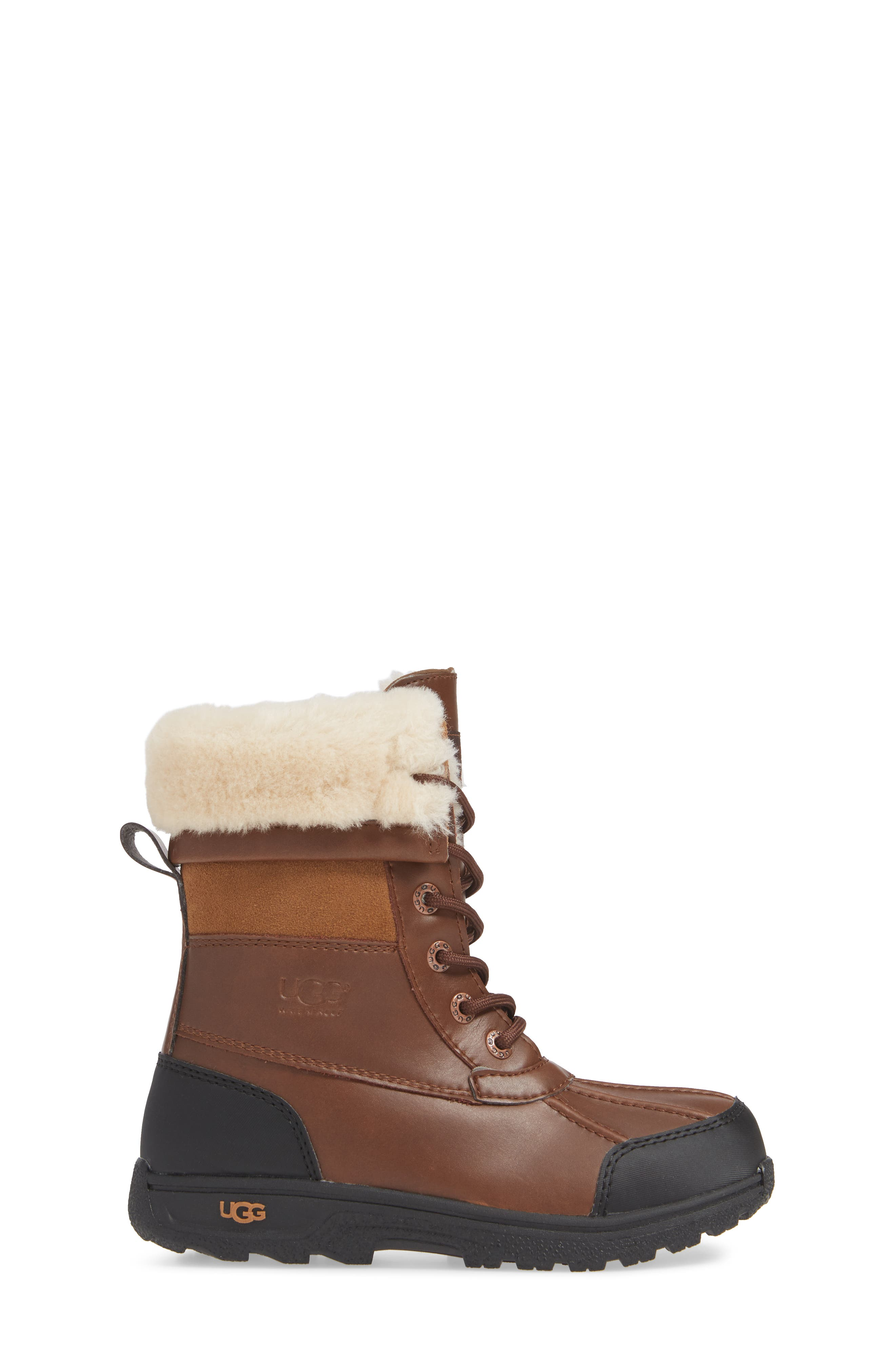 UGG<SUP>®</SUP>, Butte II Waterproof Winter Boot, Alternate thumbnail 3, color, WORCHESTER