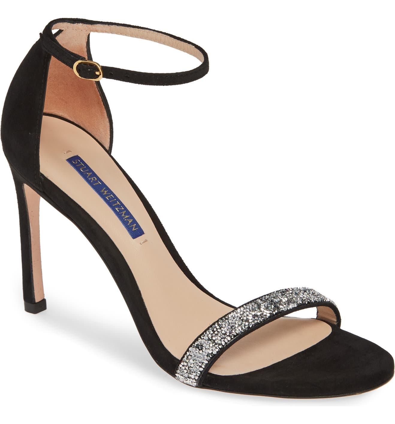 90b6284236e Stuart Weitzman Nudistsong Ankle Strap Sandal (Women)