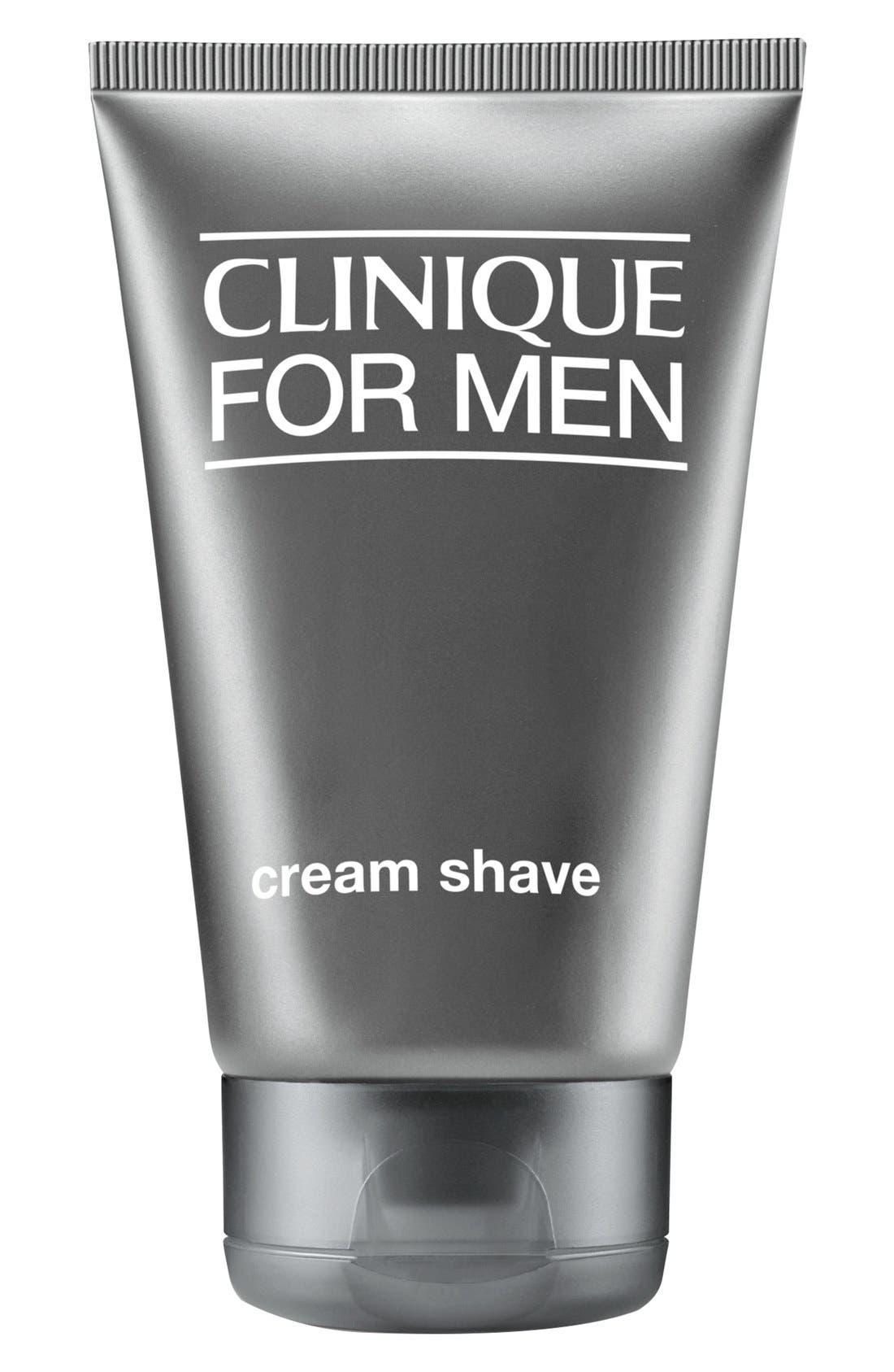 CLINIQUE, for Men Cream Shave, Main thumbnail 1, color, NO COLOR