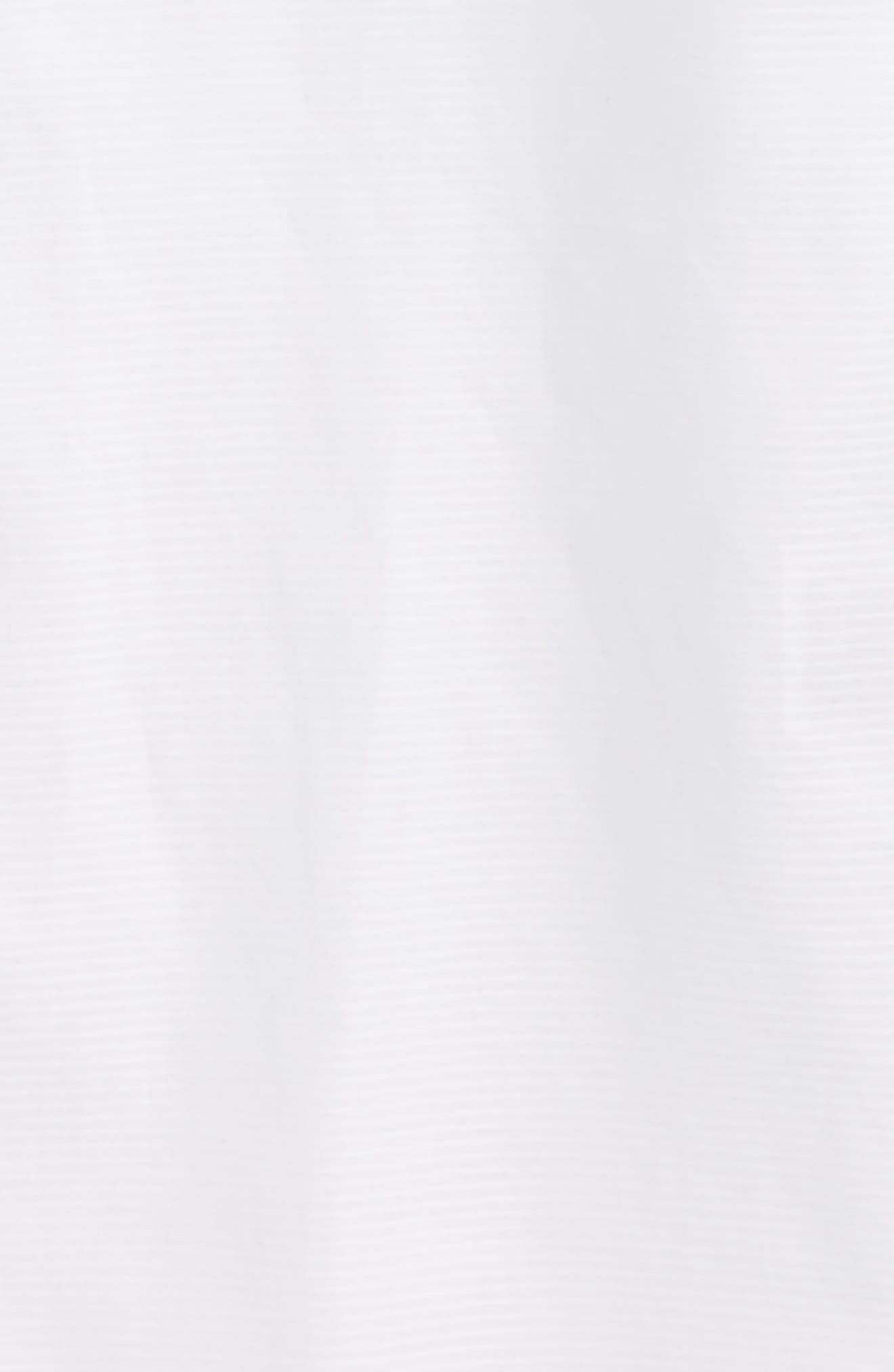 MICHAEL KORS, Solid Dress Shirt, Alternate thumbnail 2, color, WHITE