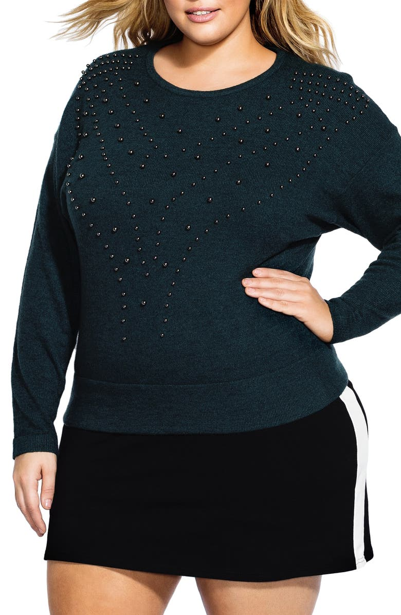 City Chic BAUBLE SWEATER