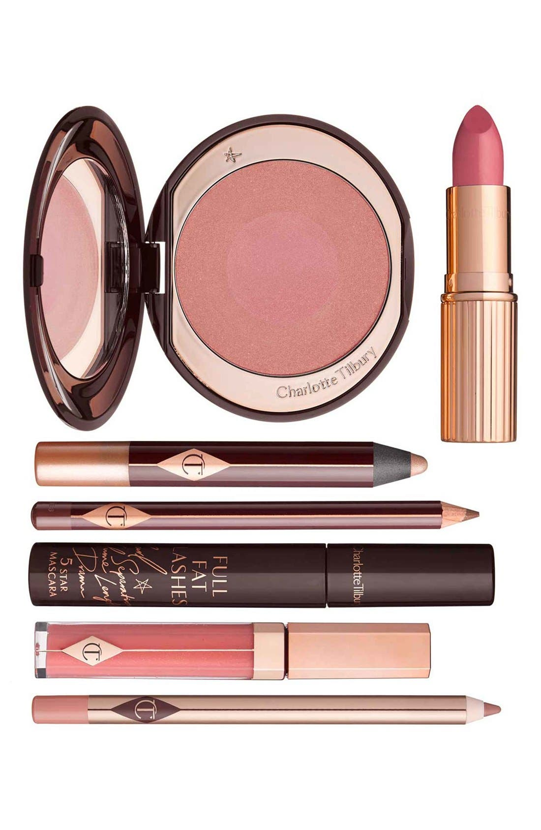 CHARLOTTE TILBURY, The Ingénue Look Set, Main thumbnail 1, color, NO COLOR