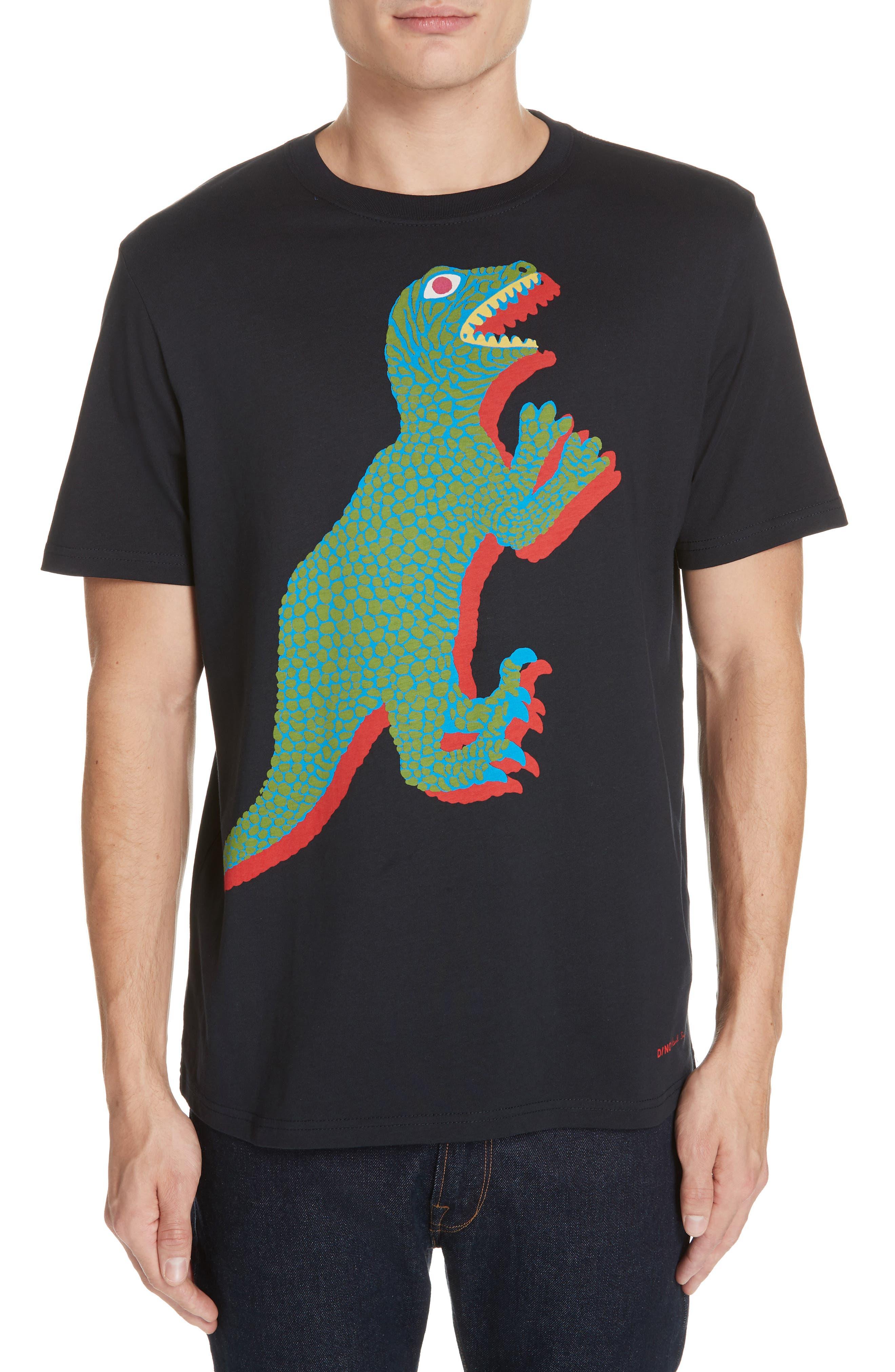 PS PAUL SMITH, Dino Graphic T-Shirt, Main thumbnail 1, color, 419