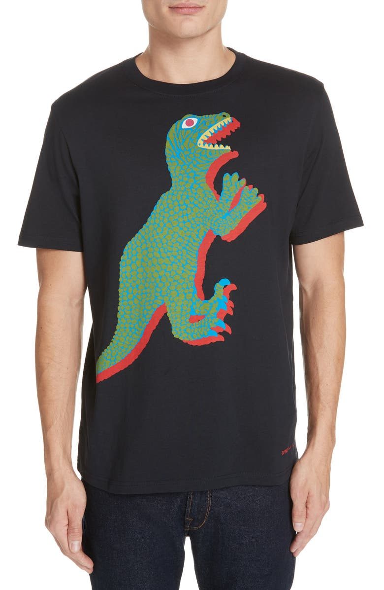 e5750d5c PS PAUL SMITH Dino Graphic T-Shirt, Main, color, NAVY
