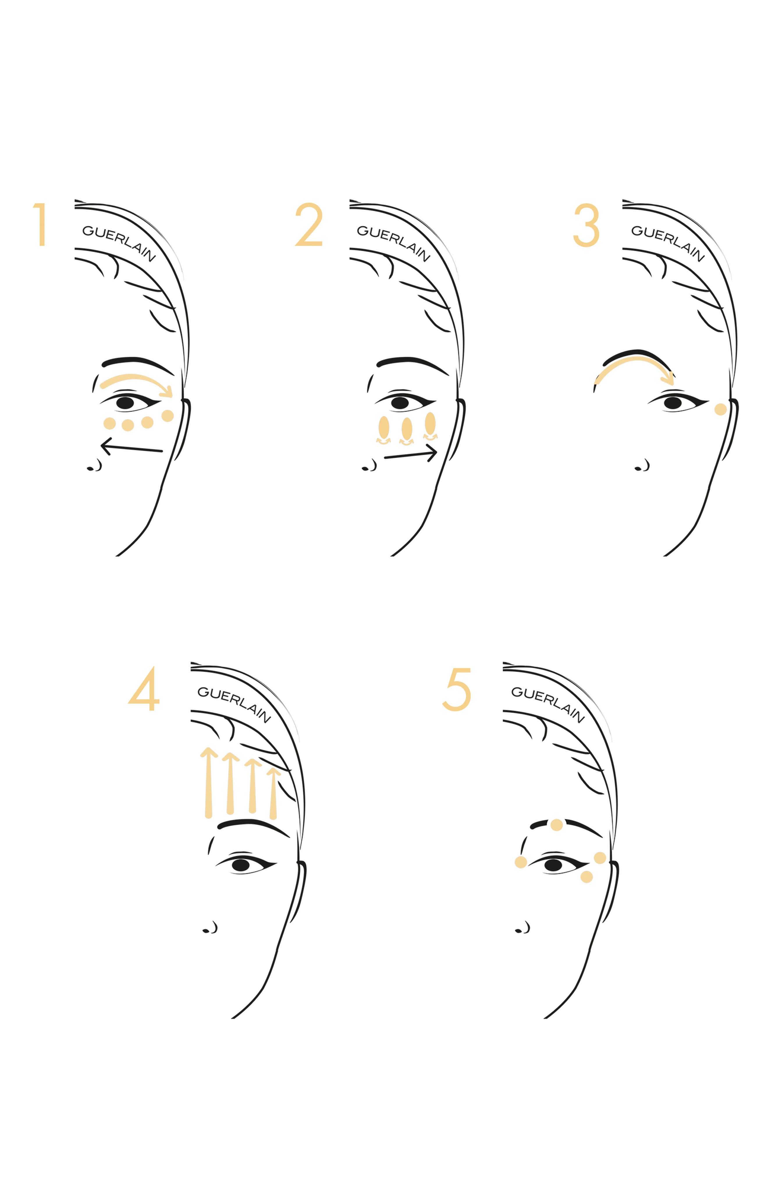 GUERLAIN, Abeille Royale - Gold Eyetech Eye Sculpt Serum, Alternate thumbnail 3, color, NO COLOR