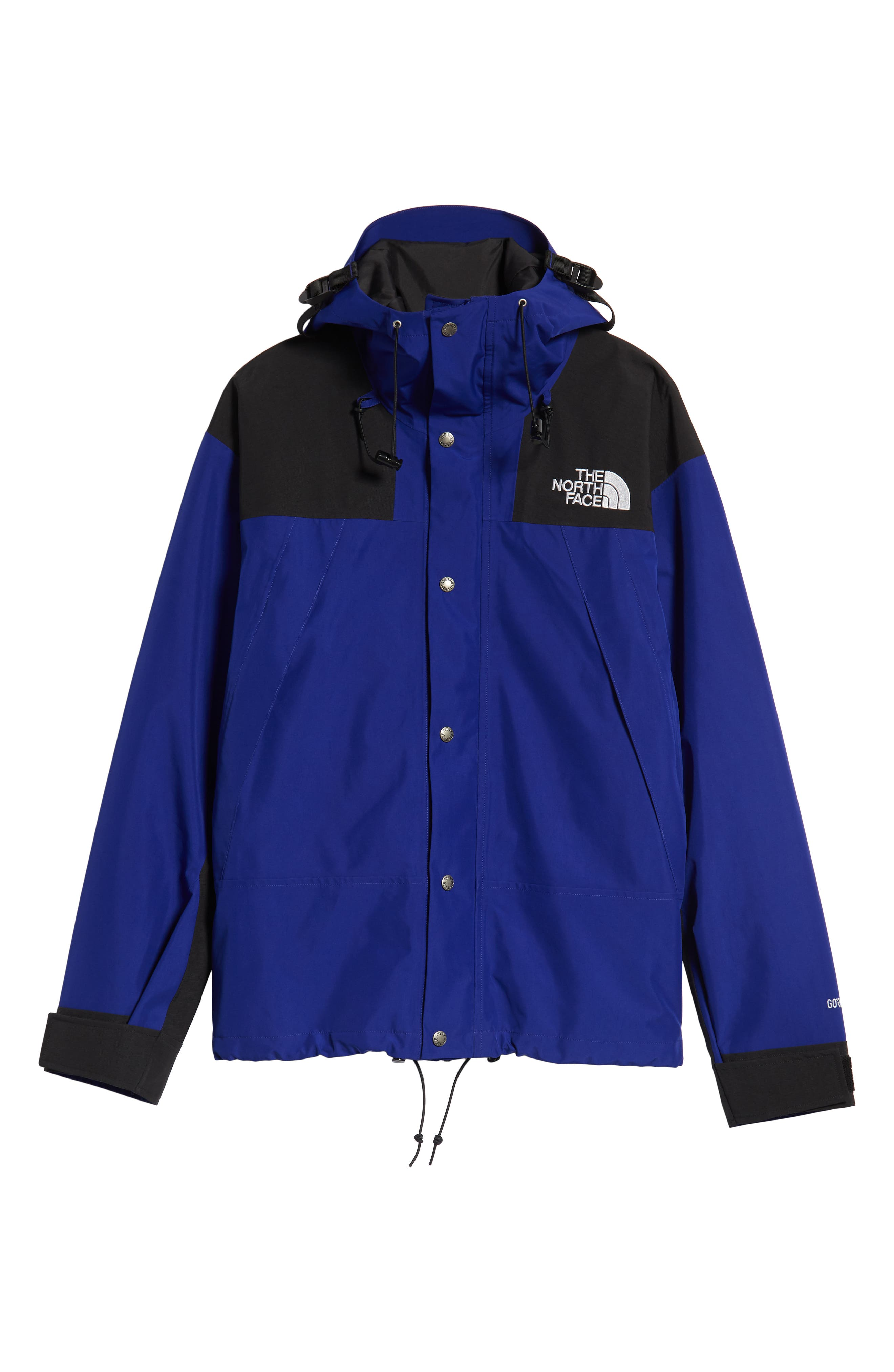 THE NORTH FACE, 1990 Mountain Hooded Jacket, Alternate thumbnail 6, color, AZTEC BLUE