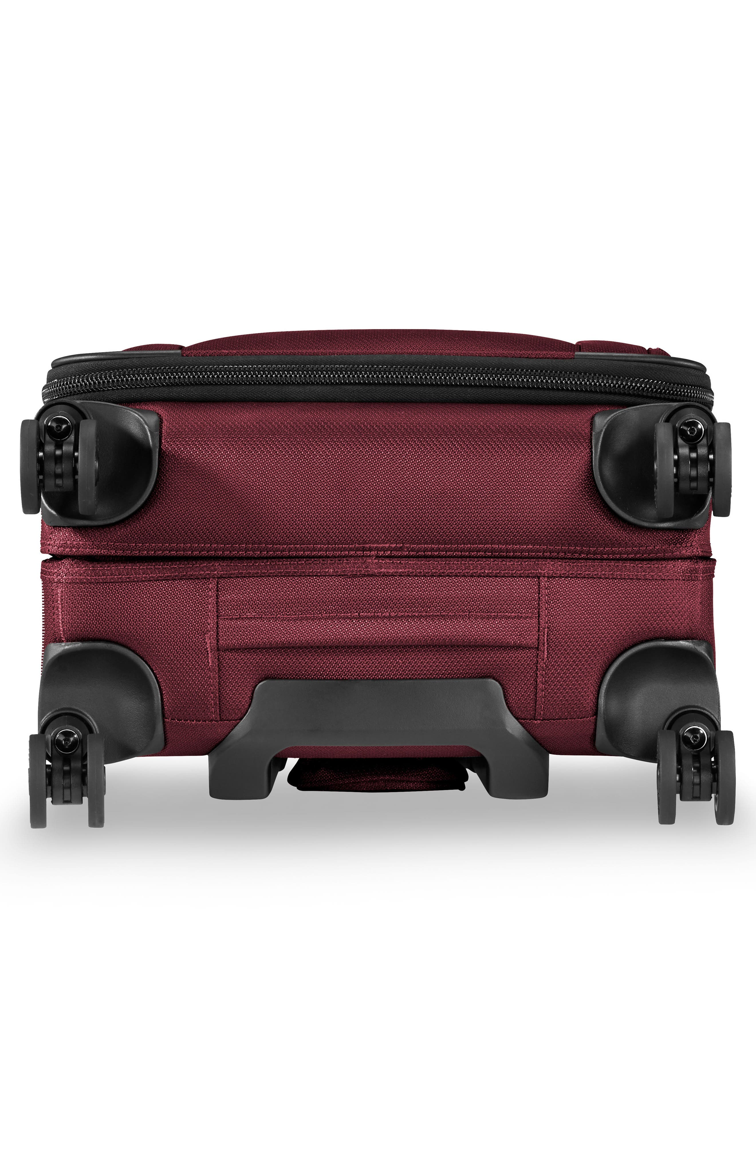 BRIGGS & RILEY, Transcend VX Tall Expandable 22-Inch Spinner Suitcase, Alternate thumbnail 7, color, MERLOT RED