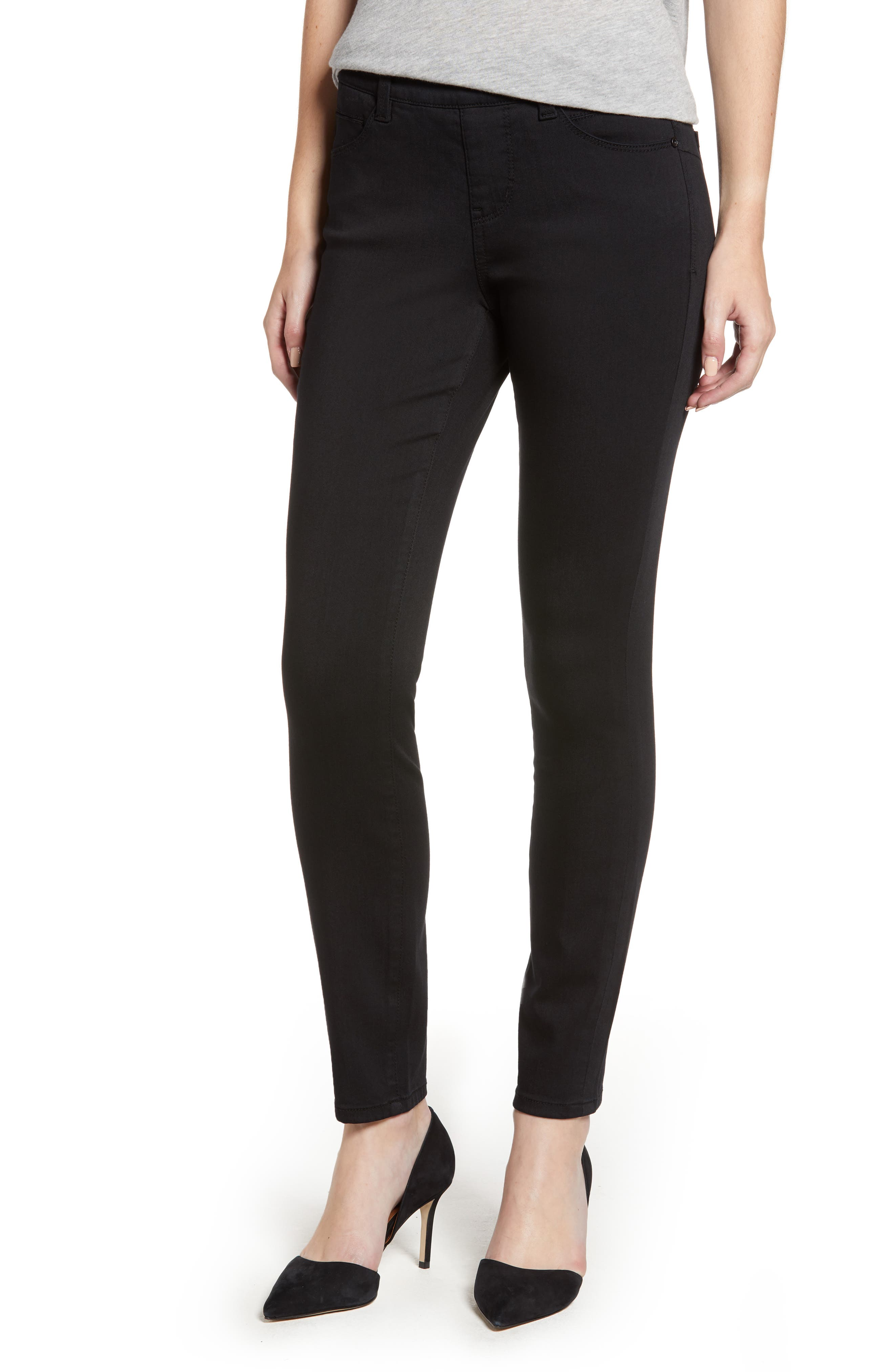 JAG JEANS, Bryn Pull-On Jeans, Main thumbnail 1, color, BLACK
