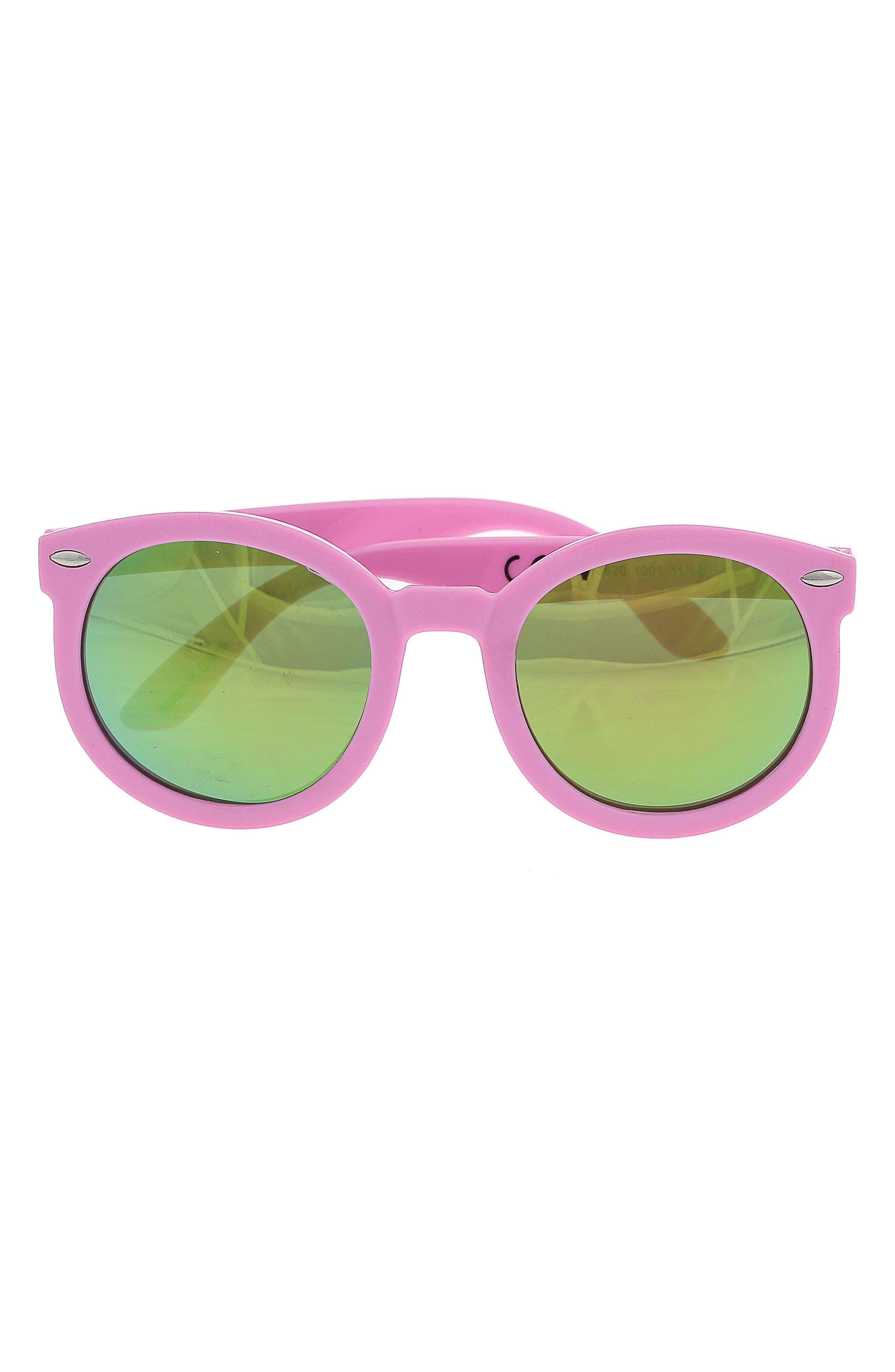 Girls Capelli New York Summer Sunglasses  Icon Print Case Set  Multi Co