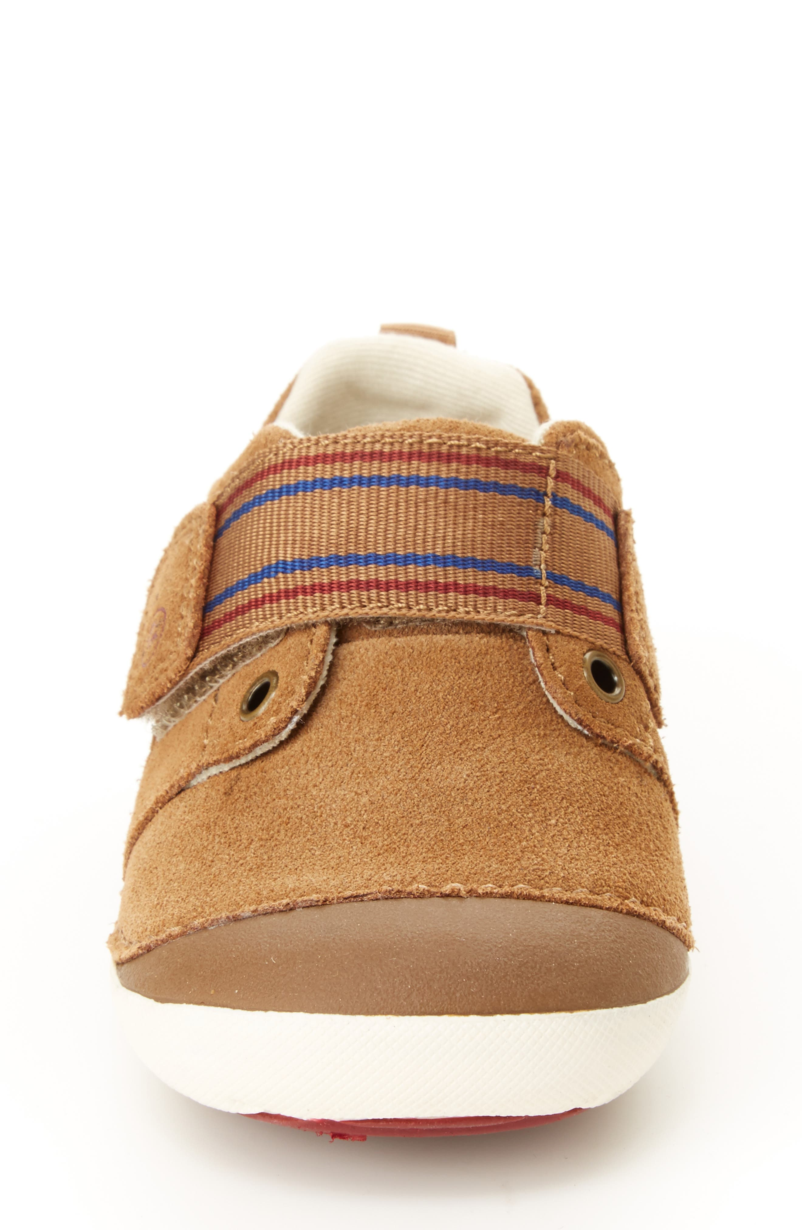 STRIDE RITE, Soft Motion<sup>™</sup> Cameron Sneaker, Alternate thumbnail 3, color, BROWN