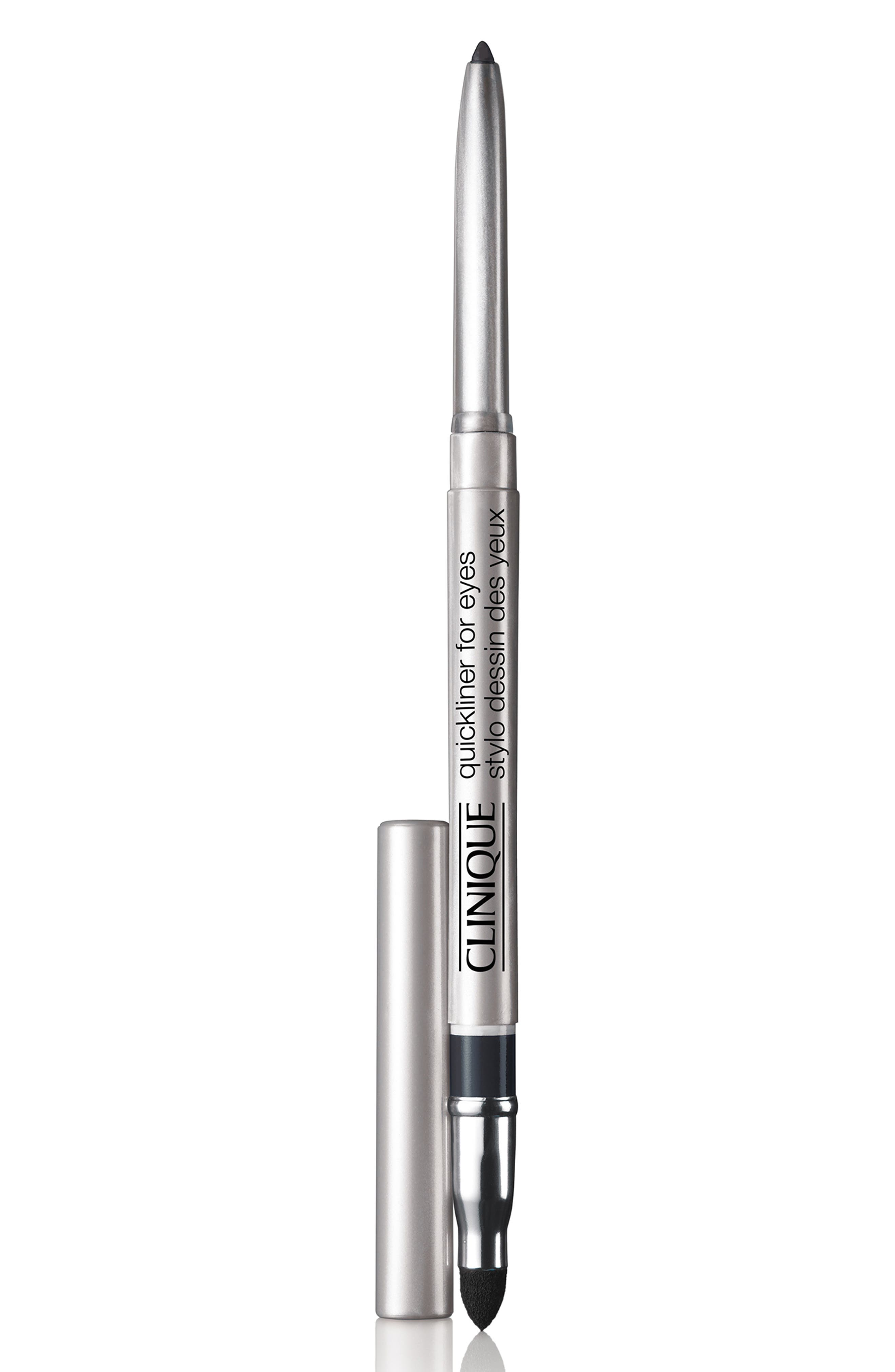 CLINIQUE, Quickliner for Eyes Eyeliner Pencil, Main thumbnail 1, color, NEW BLACK