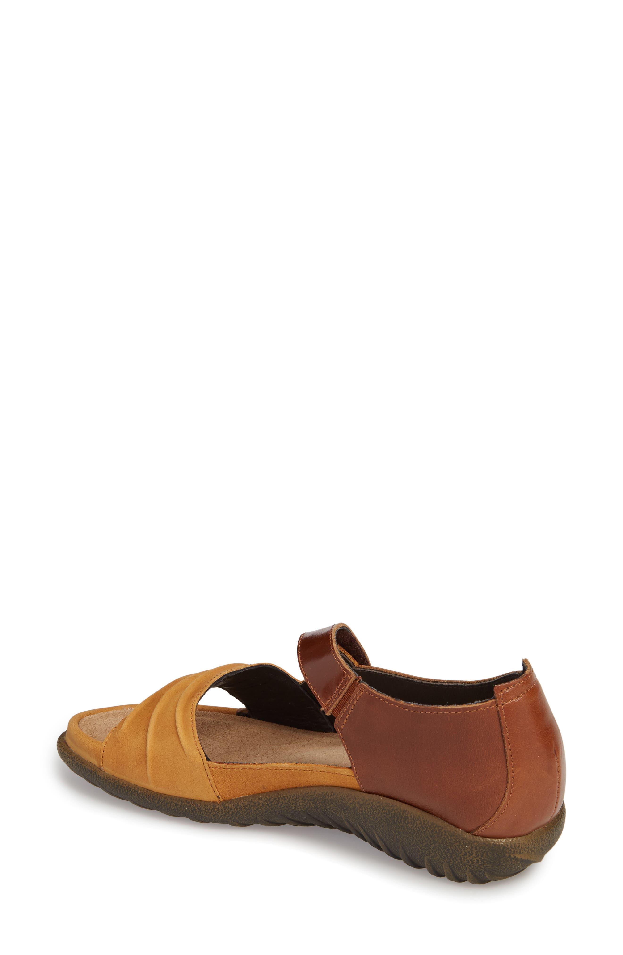 NAOT, 'Papaki' Sandal, Alternate thumbnail 2, color, OILY DUNE NUBUCK