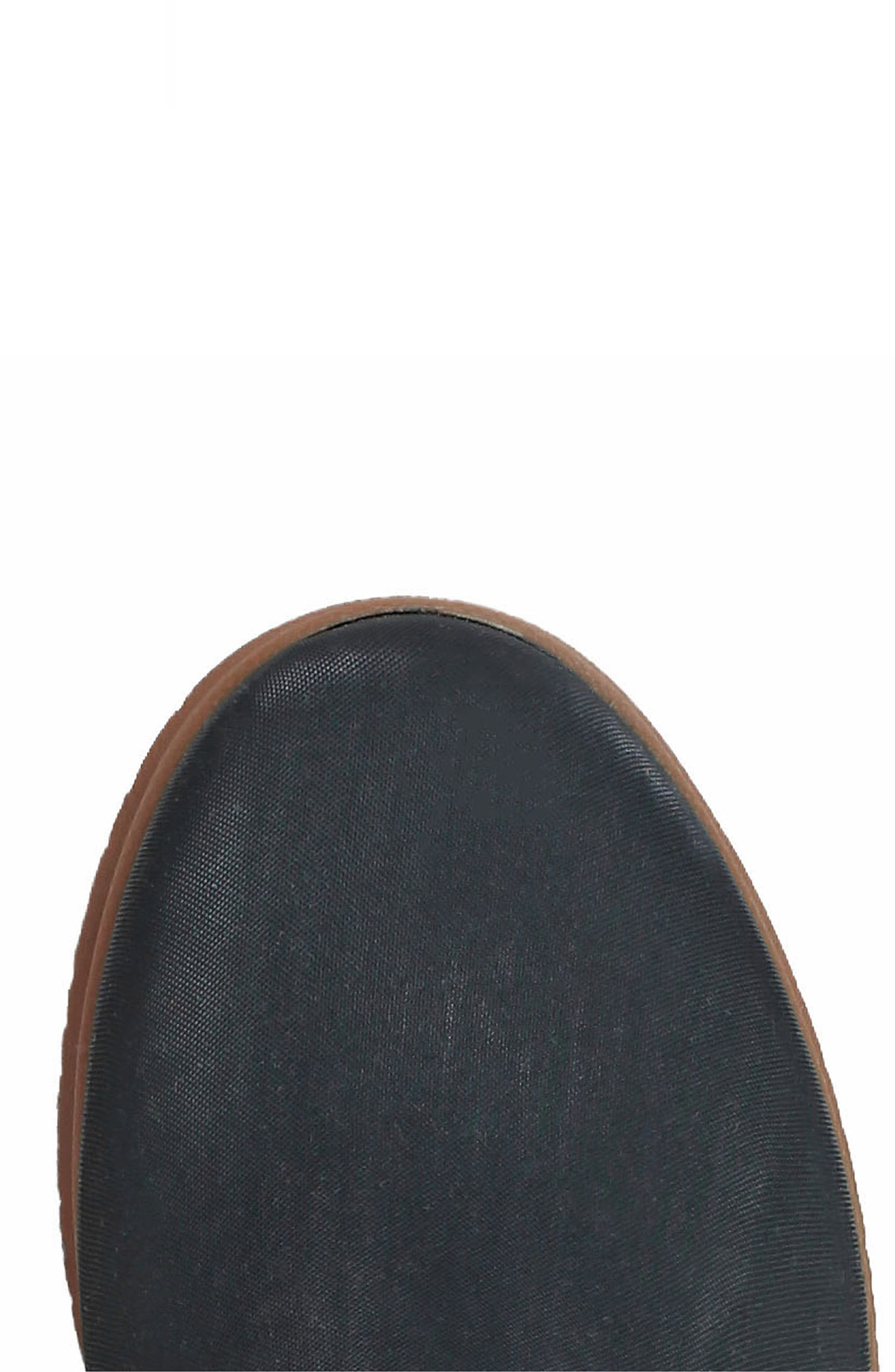 BOGS, Sweetpea Rain Boot, Alternate thumbnail 7, color, BLACK RUBBER