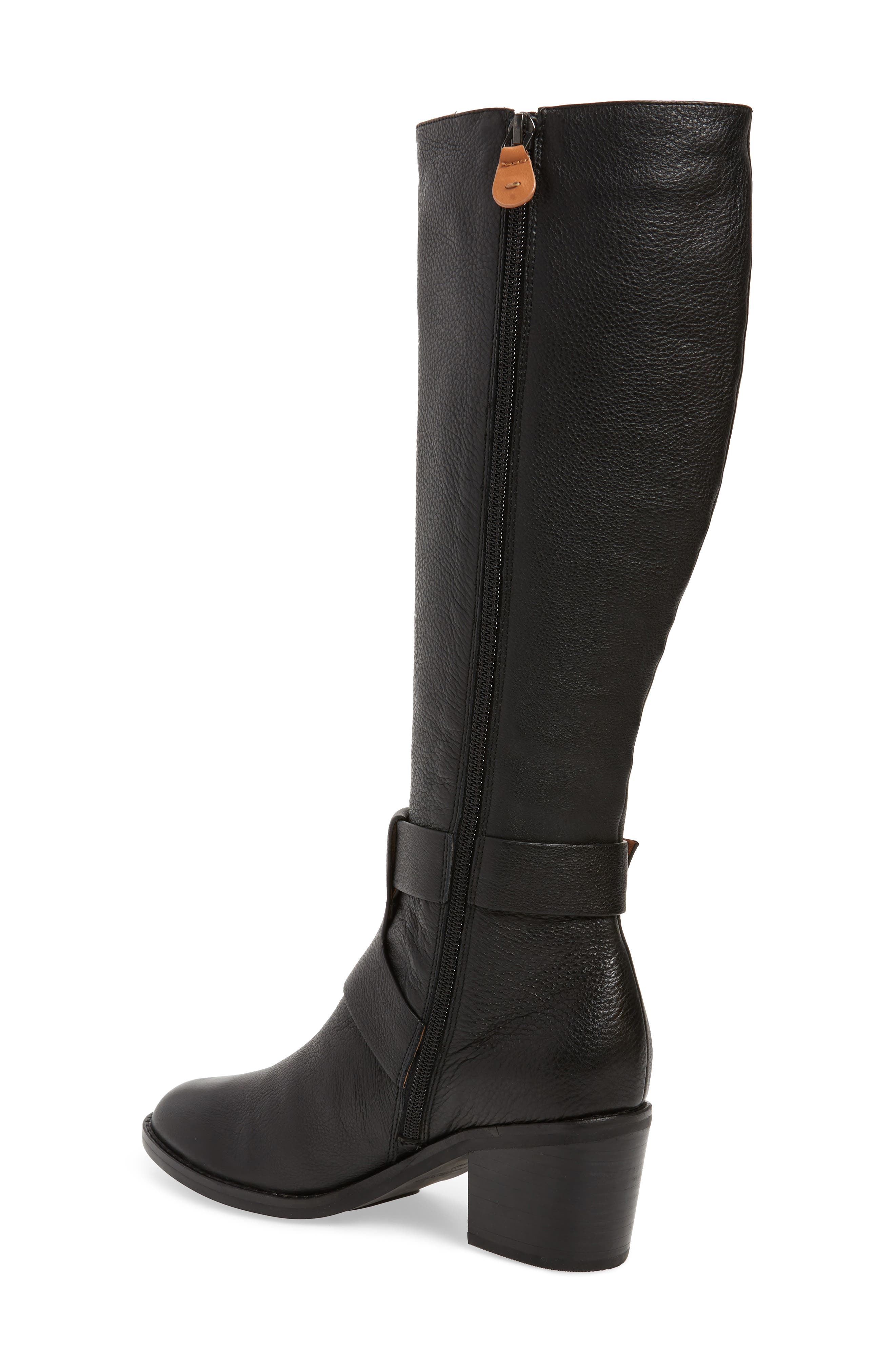 GENTLE SOULS BY KENNETH COLE, Verona Knee-High Riding Boot, Alternate thumbnail 2, color, 001