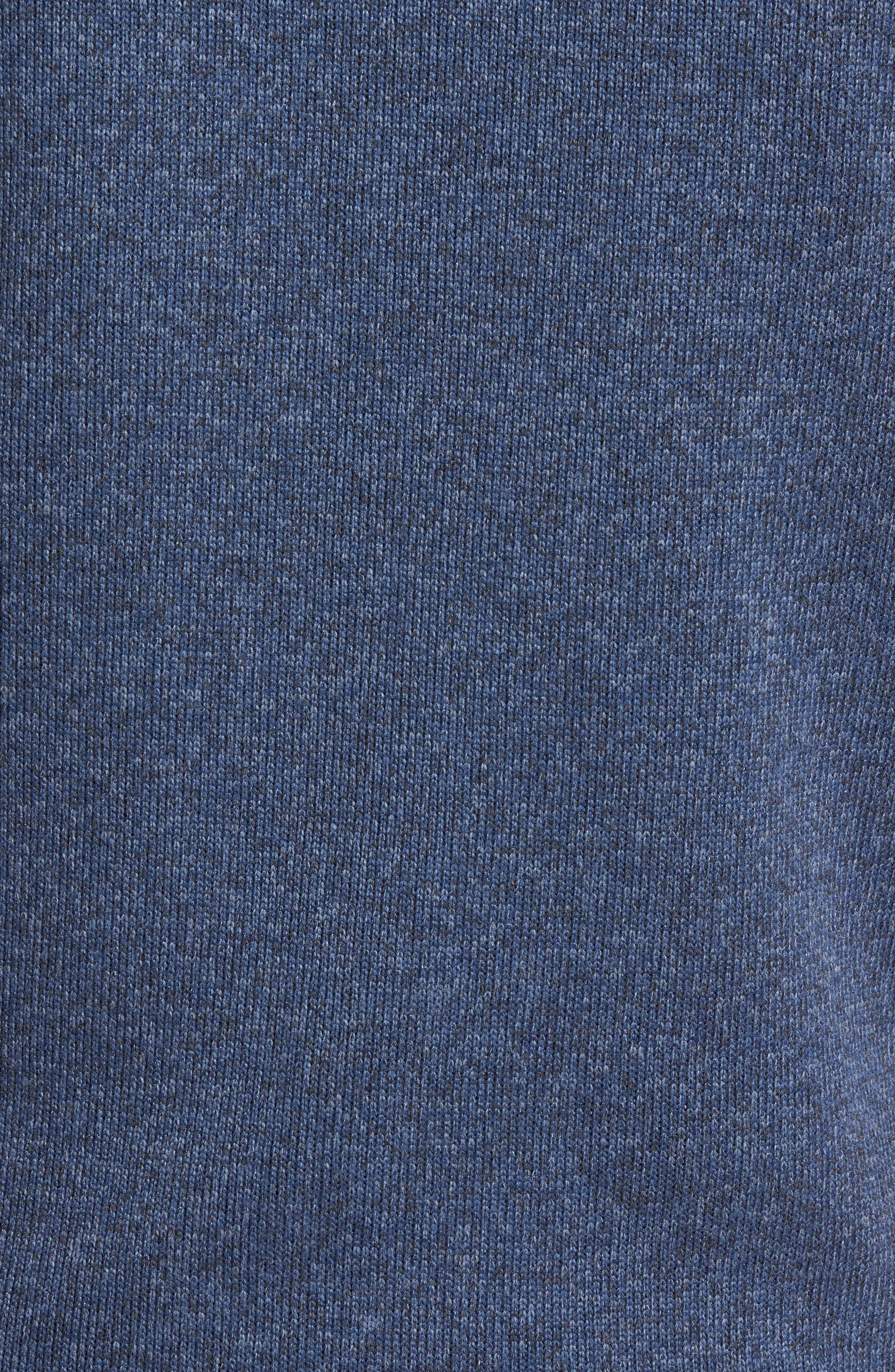 PATAGONIA, 'Better Sweater' Zip Front Vest, Alternate thumbnail 5, color, DOLOMITE BLUE