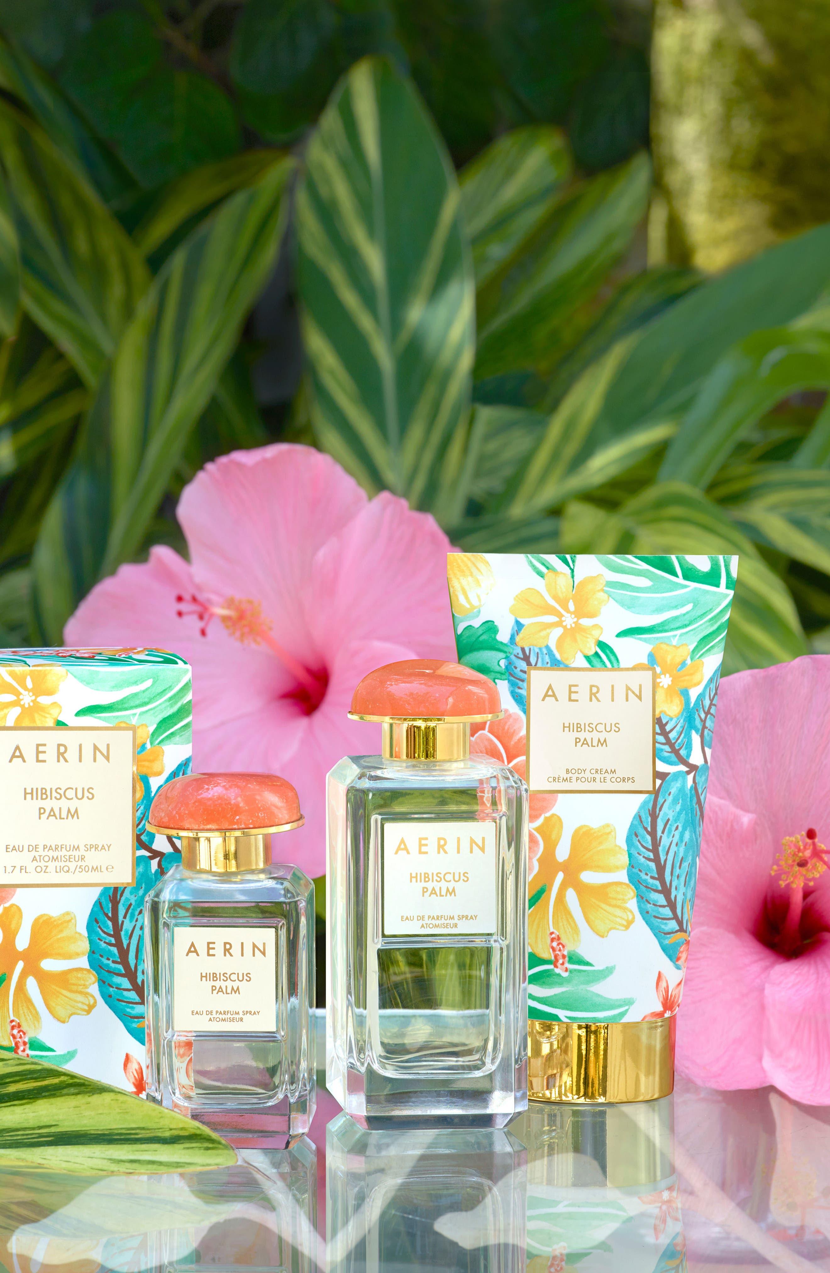 ESTÉE LAUDER, AERIN Beauty Hibiscus Palm Body Cream, Alternate thumbnail 4, color, NO COLOR
