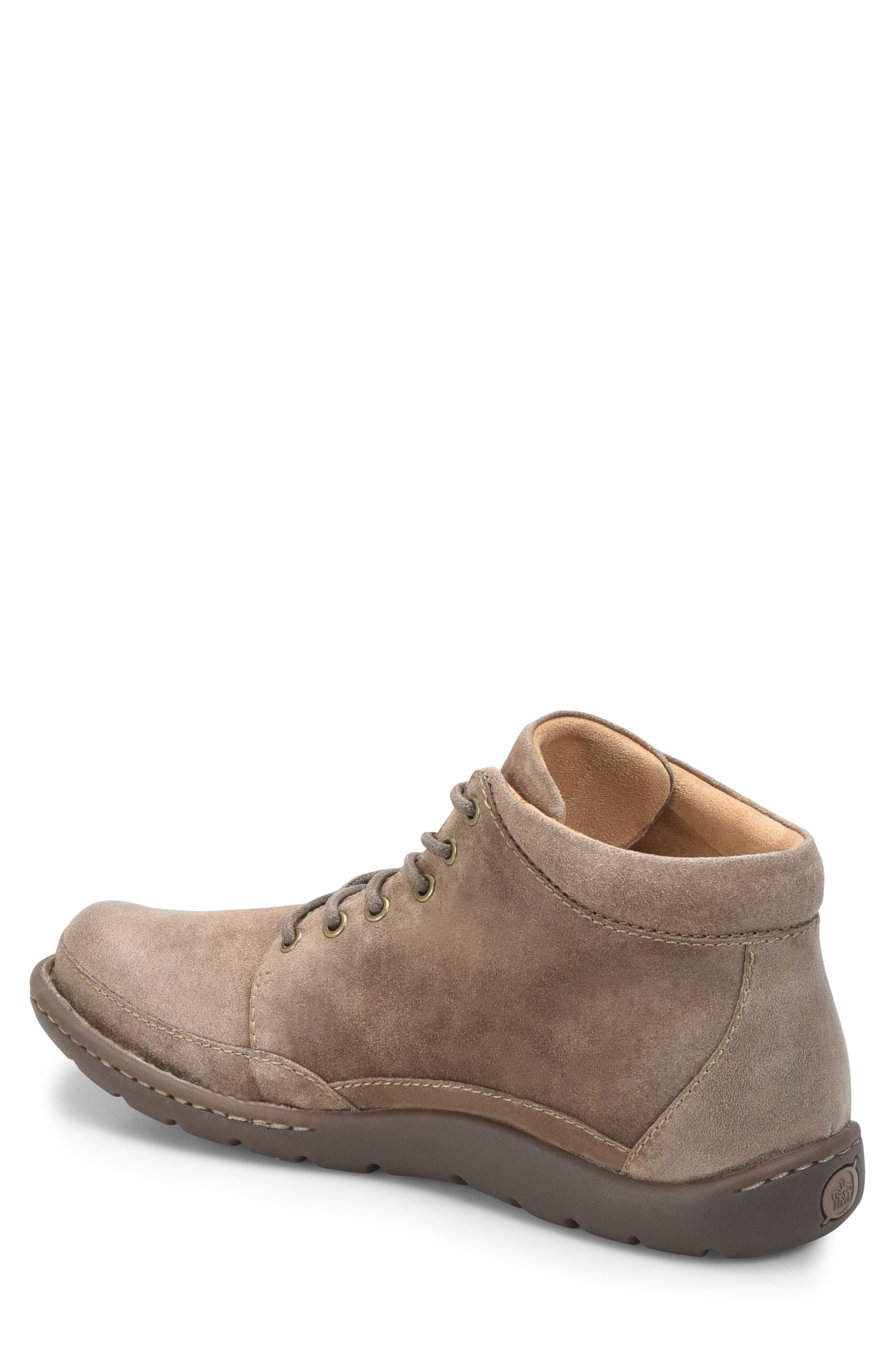 BØRN, Nigel Low Boot, Alternate thumbnail 2, color, TAUPE LEATHER