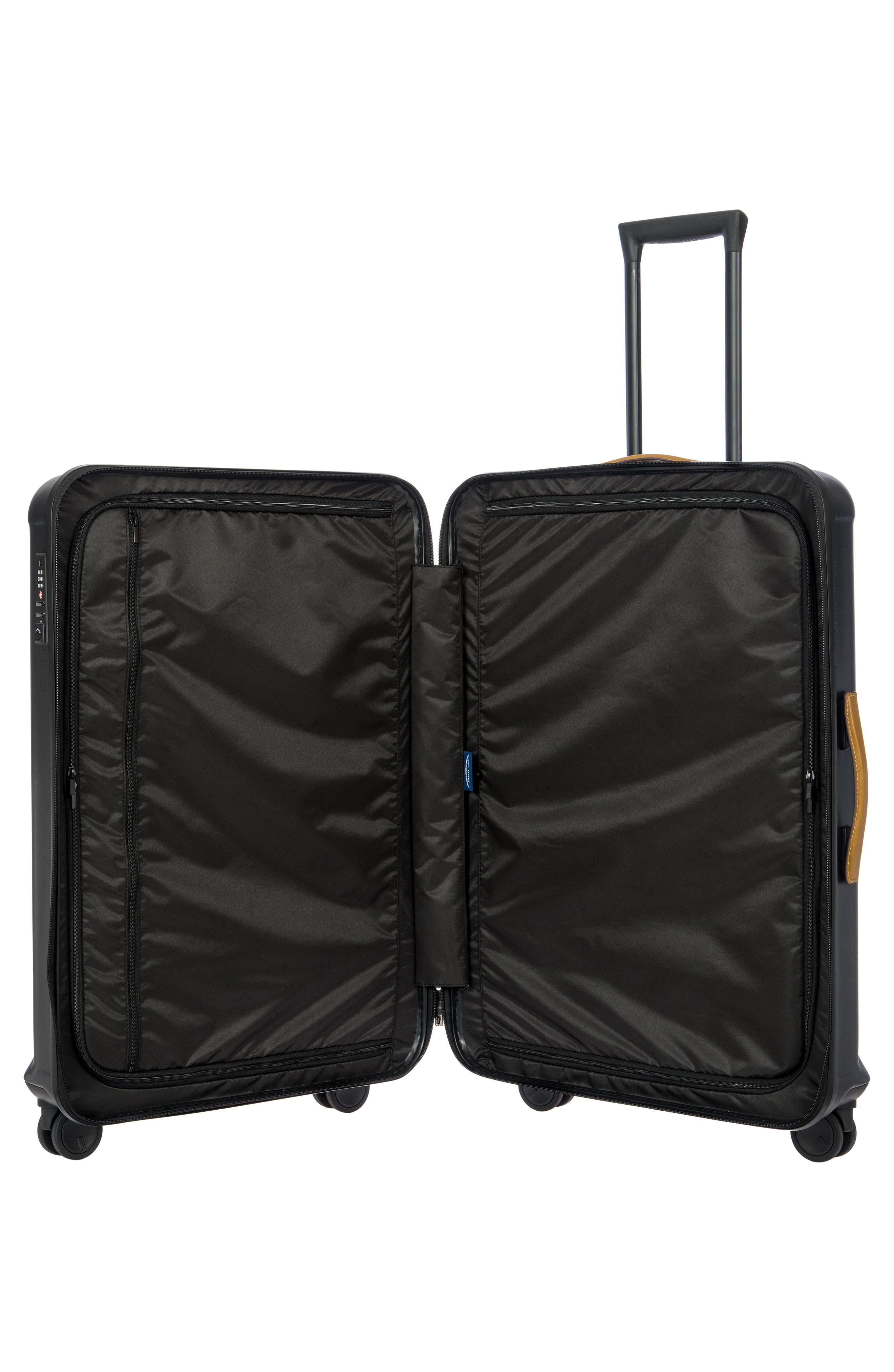 BRIC'S, Capri 32-Inch Spinner Suitcase, Alternate thumbnail 2, color, MATTE BLACK