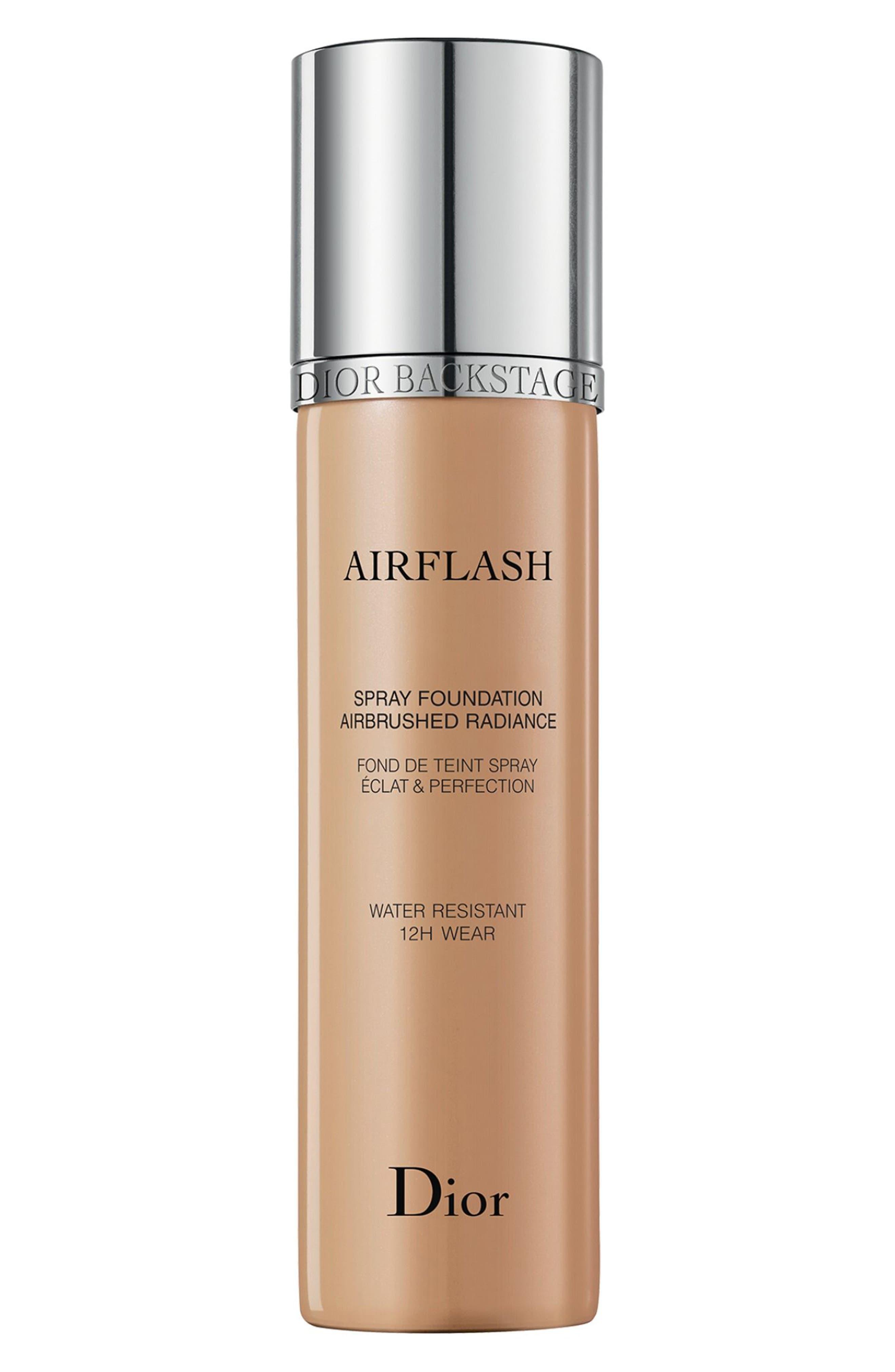 DIOR Diorskin Airflash Spray Foundation, Main, color, 304 ALMOND BEIGE