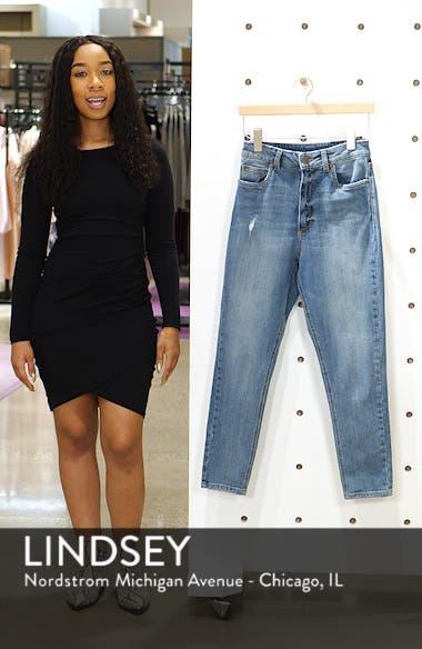 Sophia High Waist Mom Jeans, sales video thumbnail