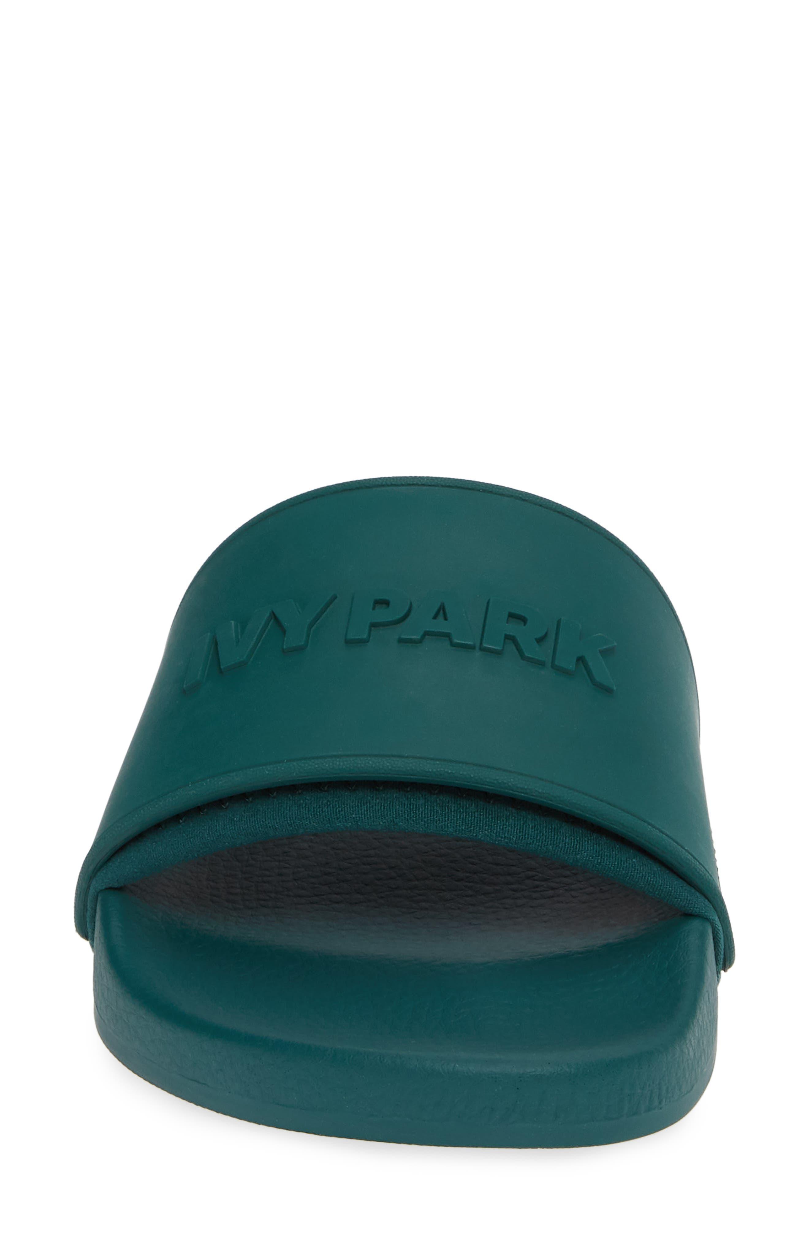IVY PARK<SUP>®</SUP>, Embossed Logo Slide Sandal, Alternate thumbnail 4, color, 300