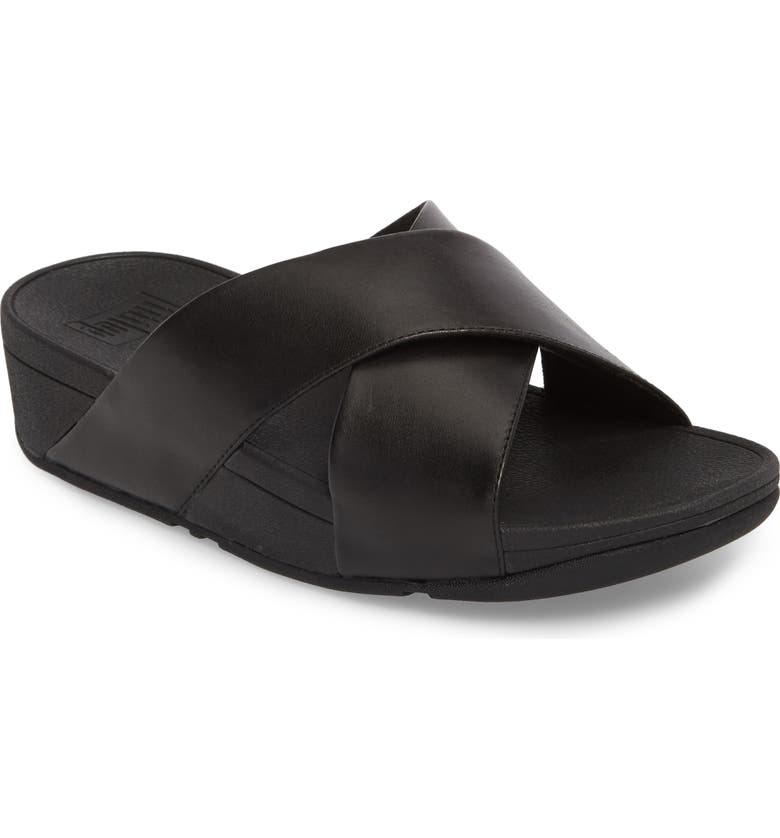9a2f667d7 FitFlop Lulu Cross Slide Sandal (Women)