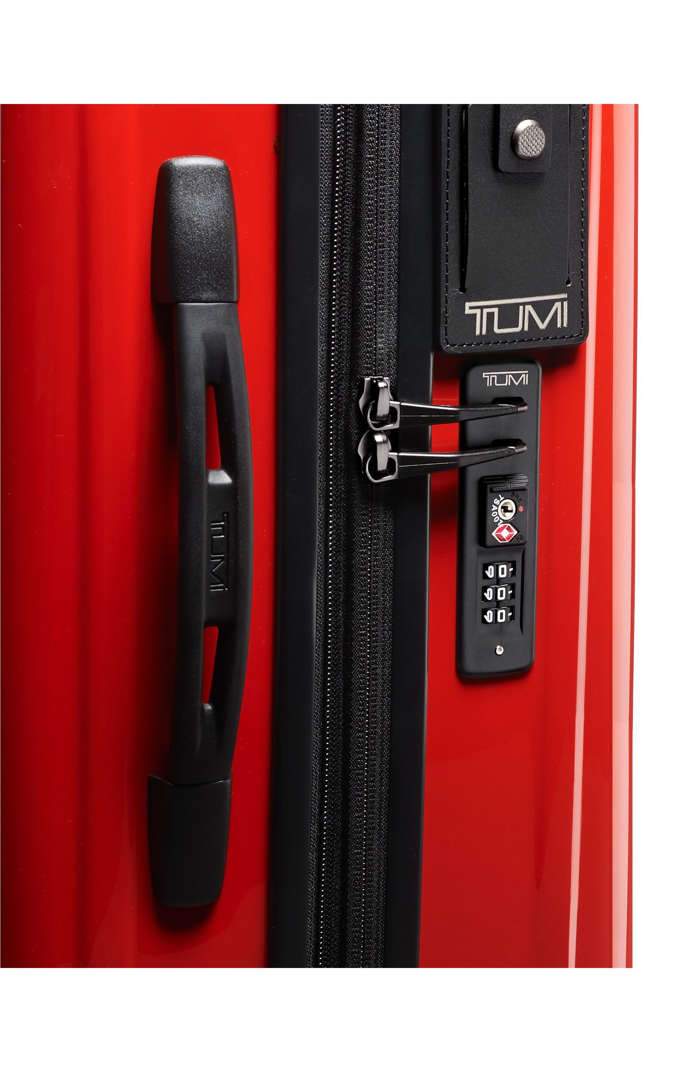 TUMI, V3 International 22-Inch Expandable Wheeled Carry-On, Alternate thumbnail 5, color, SUNSET