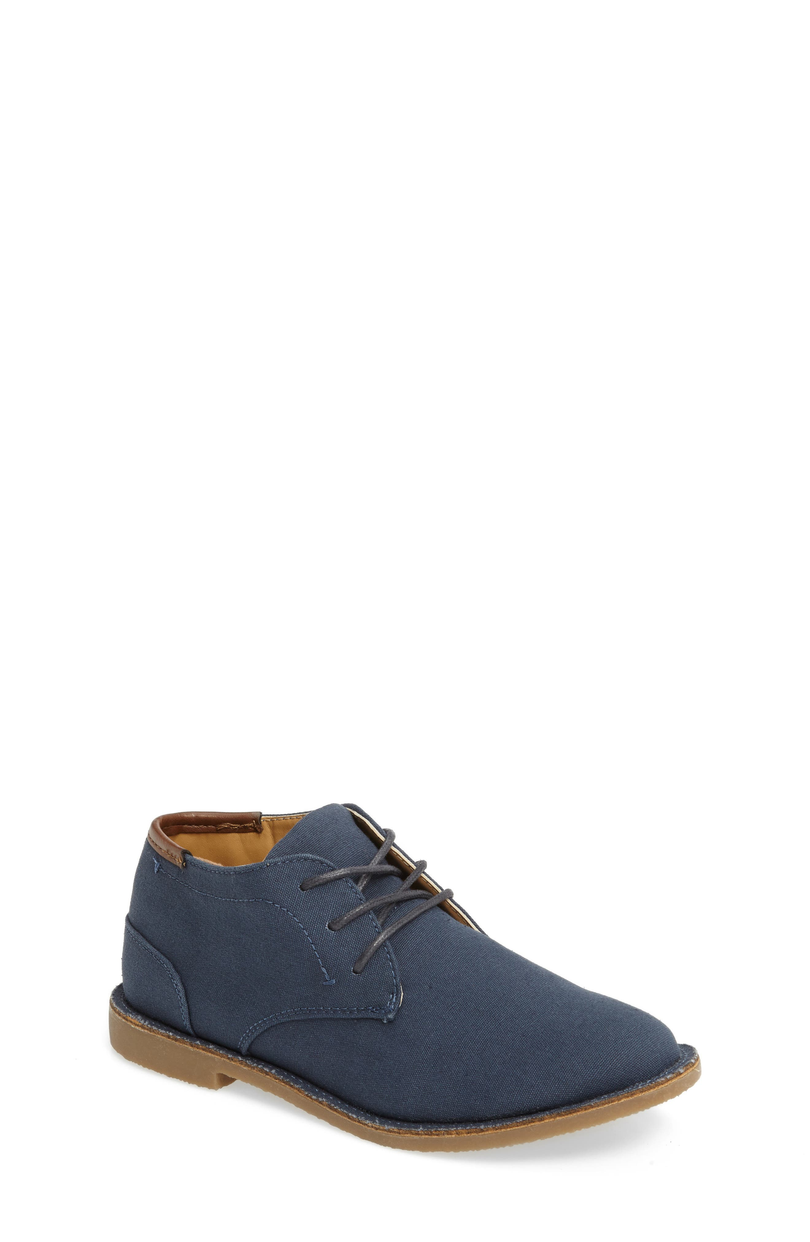 Boys Kenneth Cole New York Real Deal Chukka Boot Size 5 M  Blue